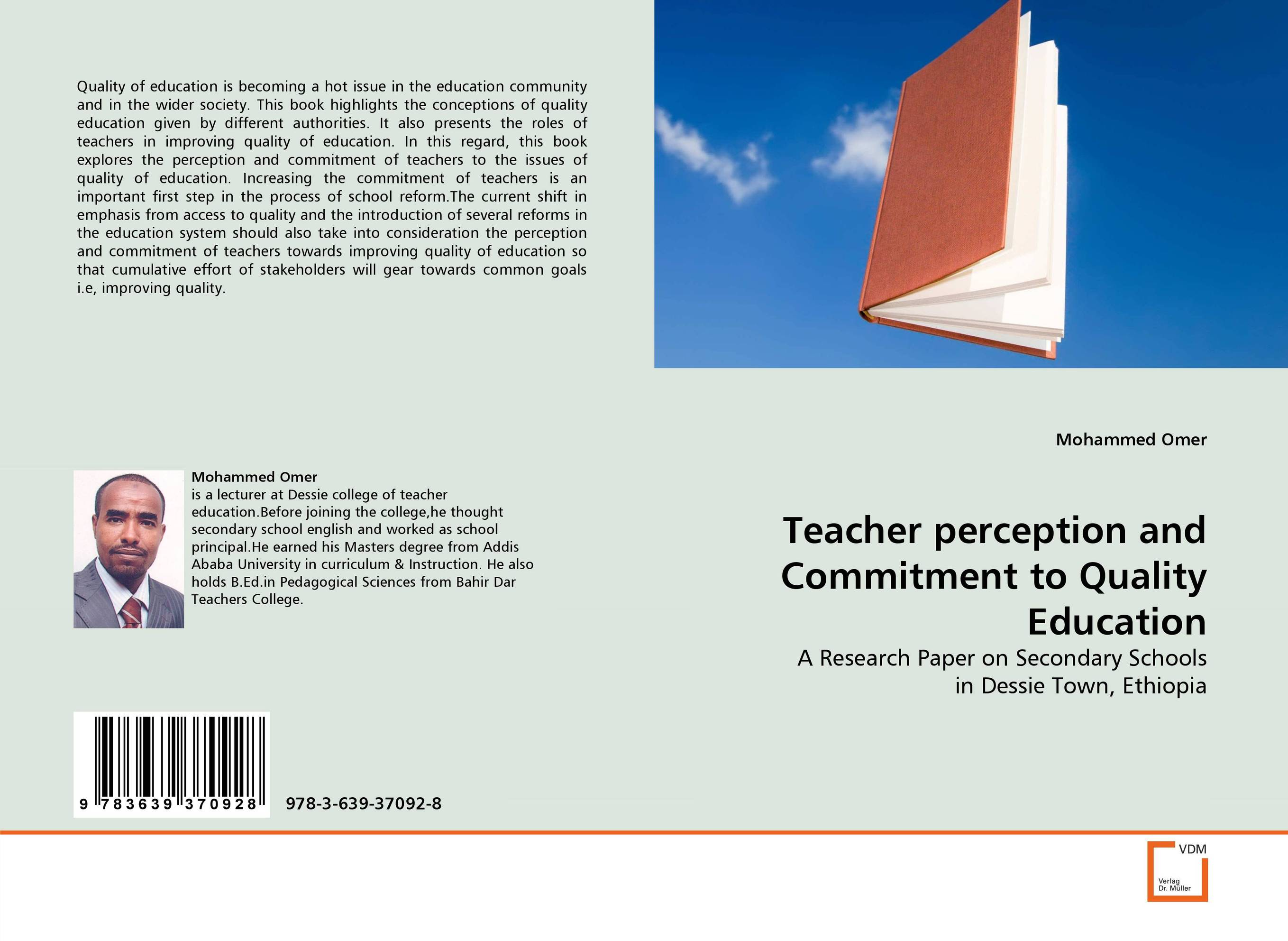 Teacher perception and Commitment to Quality Education quality perception