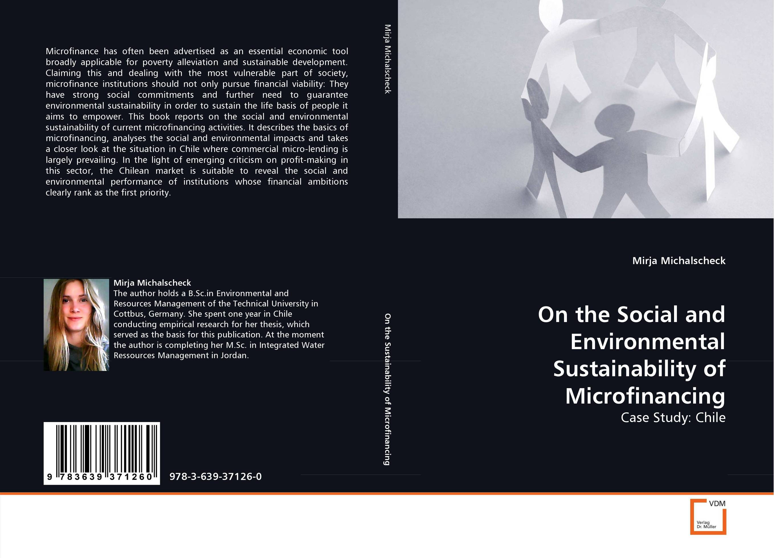 On the Social and Environmental Sustainability of Microfinancing sustainability and the sovereign bond market