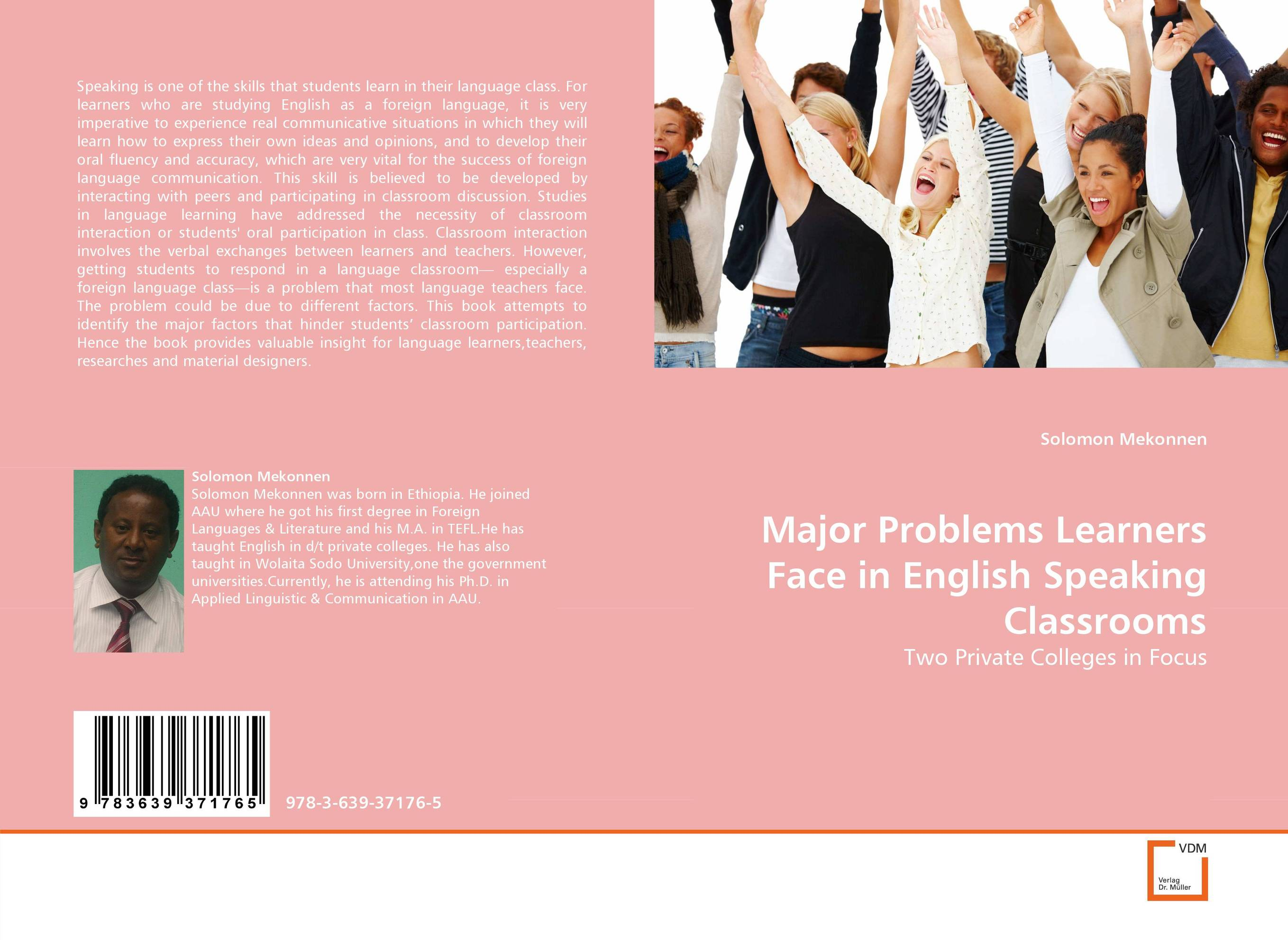 Major Problems Learners Face in English Speaking Classrooms crosslinguistic influence and crosslinguistic interaction in multilingual language learning