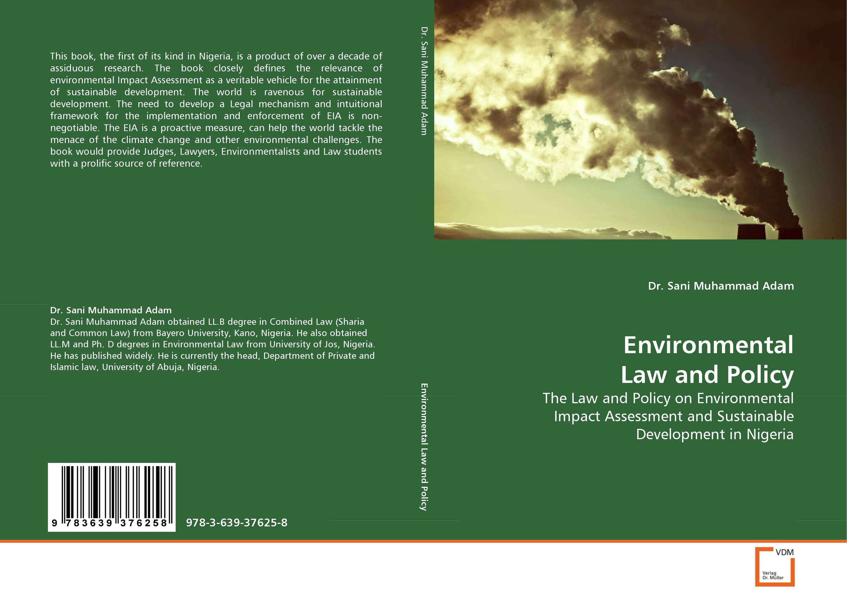 Environmental Law and Policy an evaluation of the role of eia database in promoting eia practice