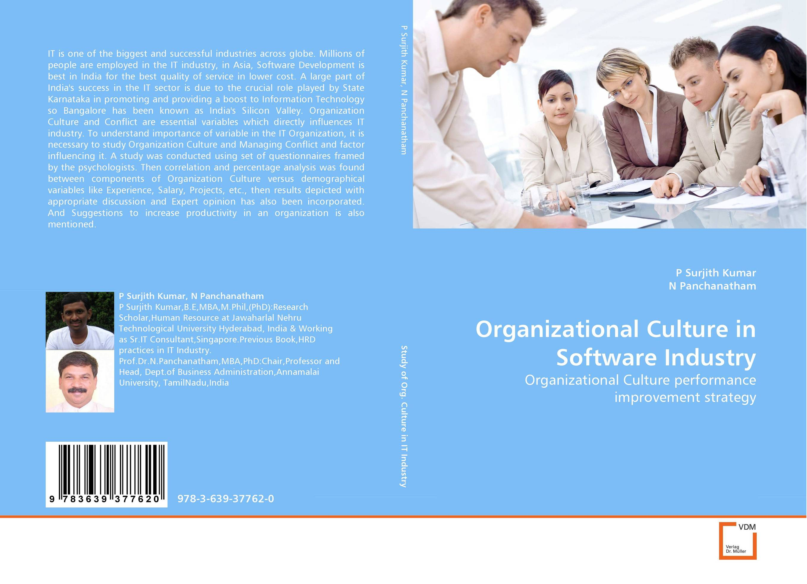 Organizational Culture in Software Industry