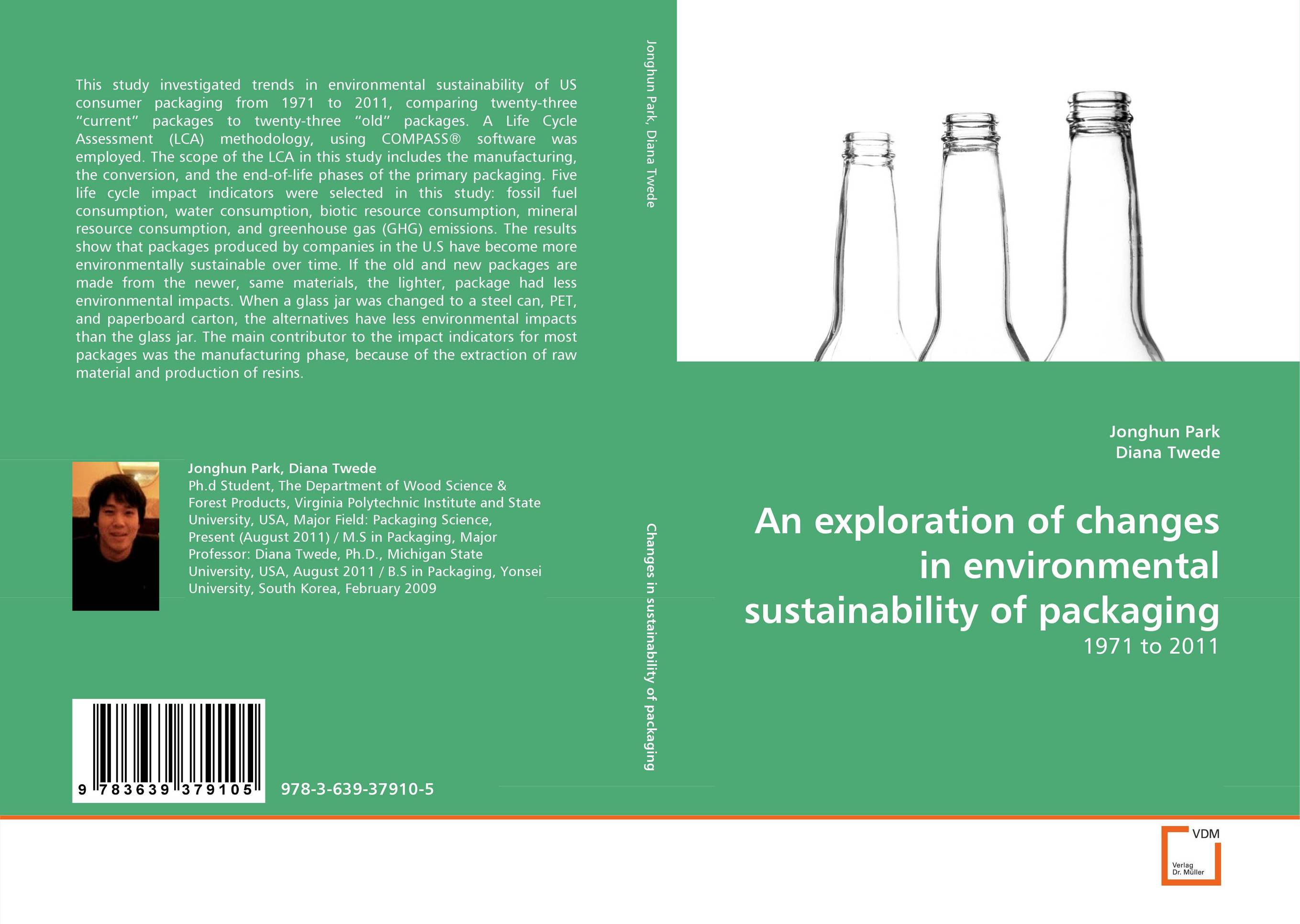 An exploration of changes in environmental sustainability of packaging the twenty three