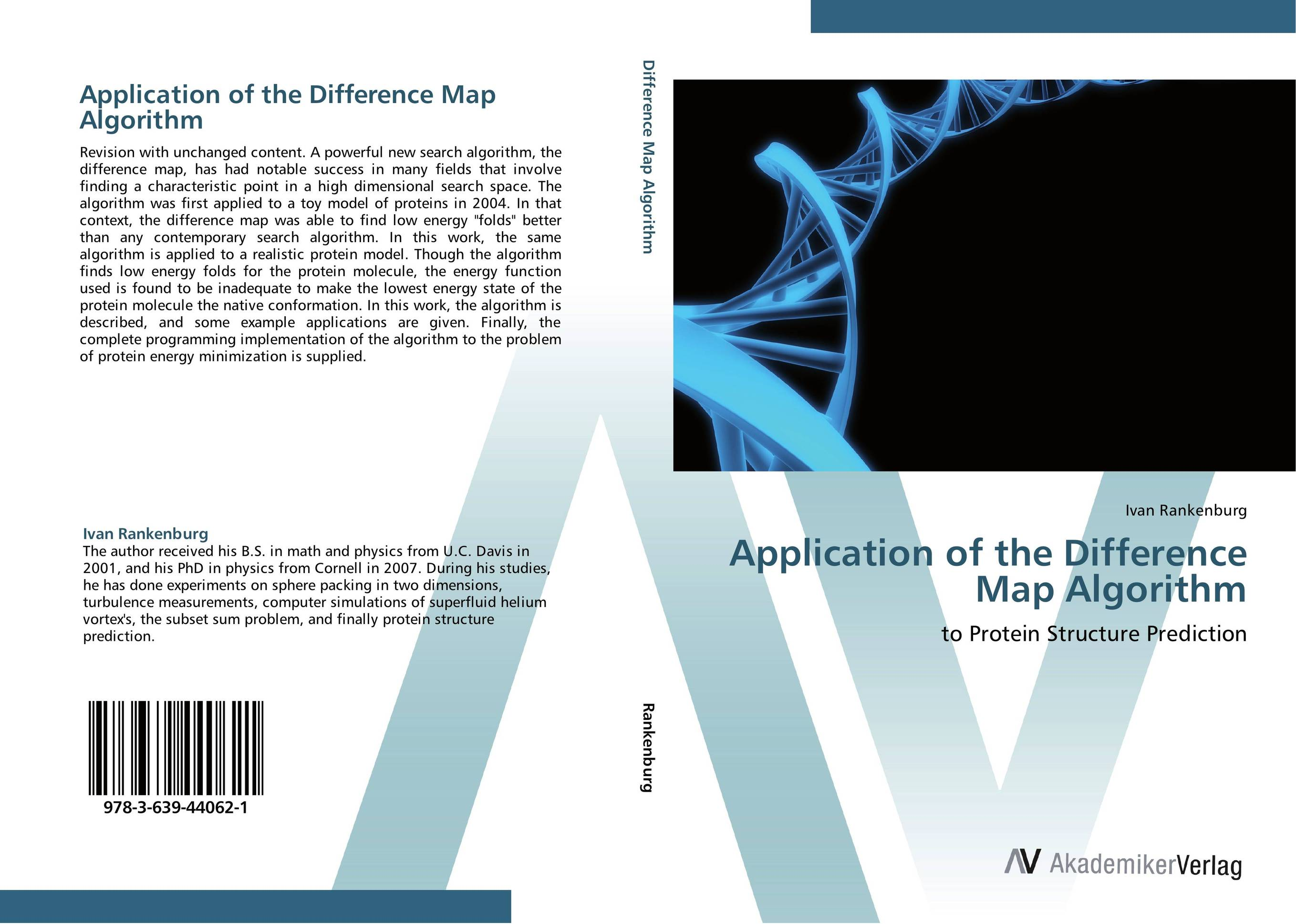 Application of the Difference Map Algorithm