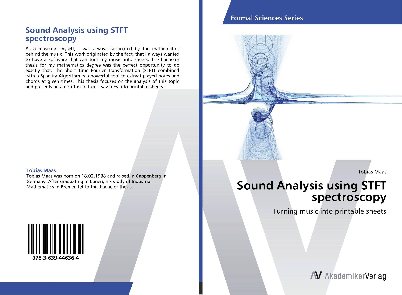 Sound Analysis using STFT spectroscopy my presents