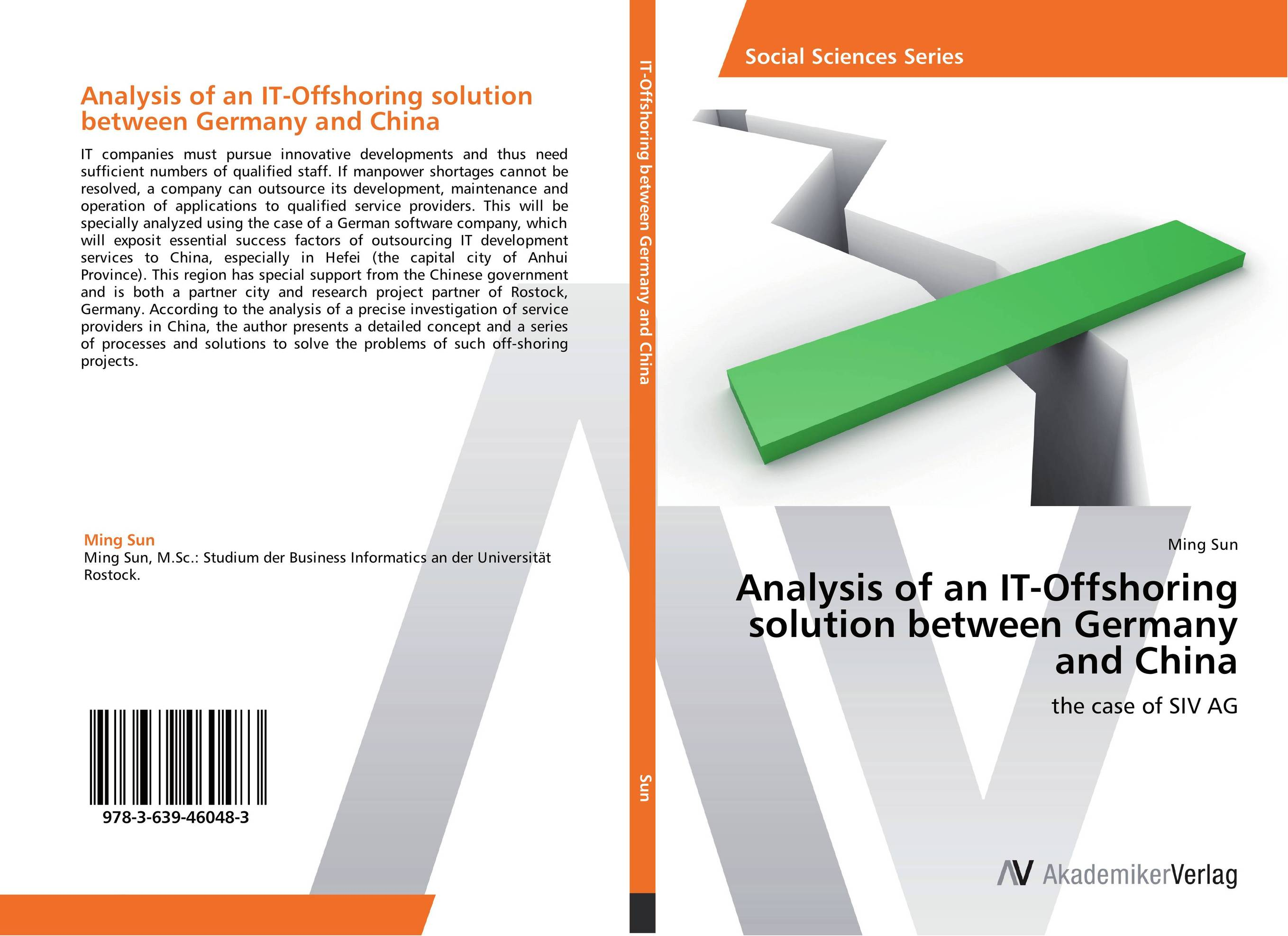Analysis of an IT-Offshoring solution between Germany and China