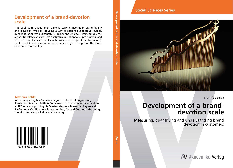 Development of a brand-devotion scale