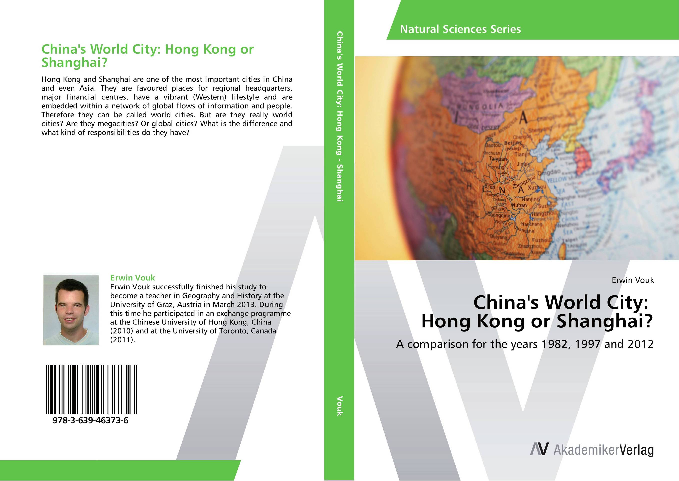 China's World City: Hong Kong or Shanghai? first sticker book cities of the world