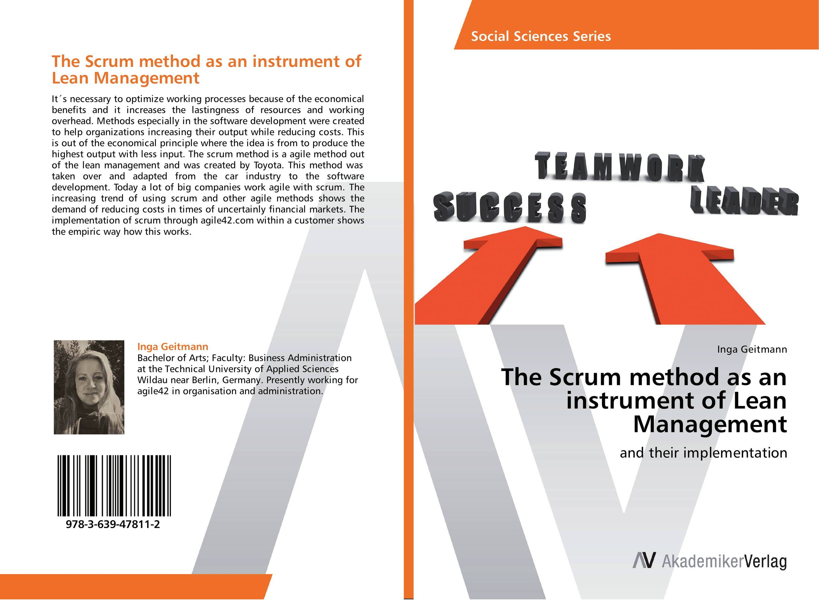 The Scrum method as an instrument of Lean Management john earley the lean book of lean a concise guide to lean management for life and business