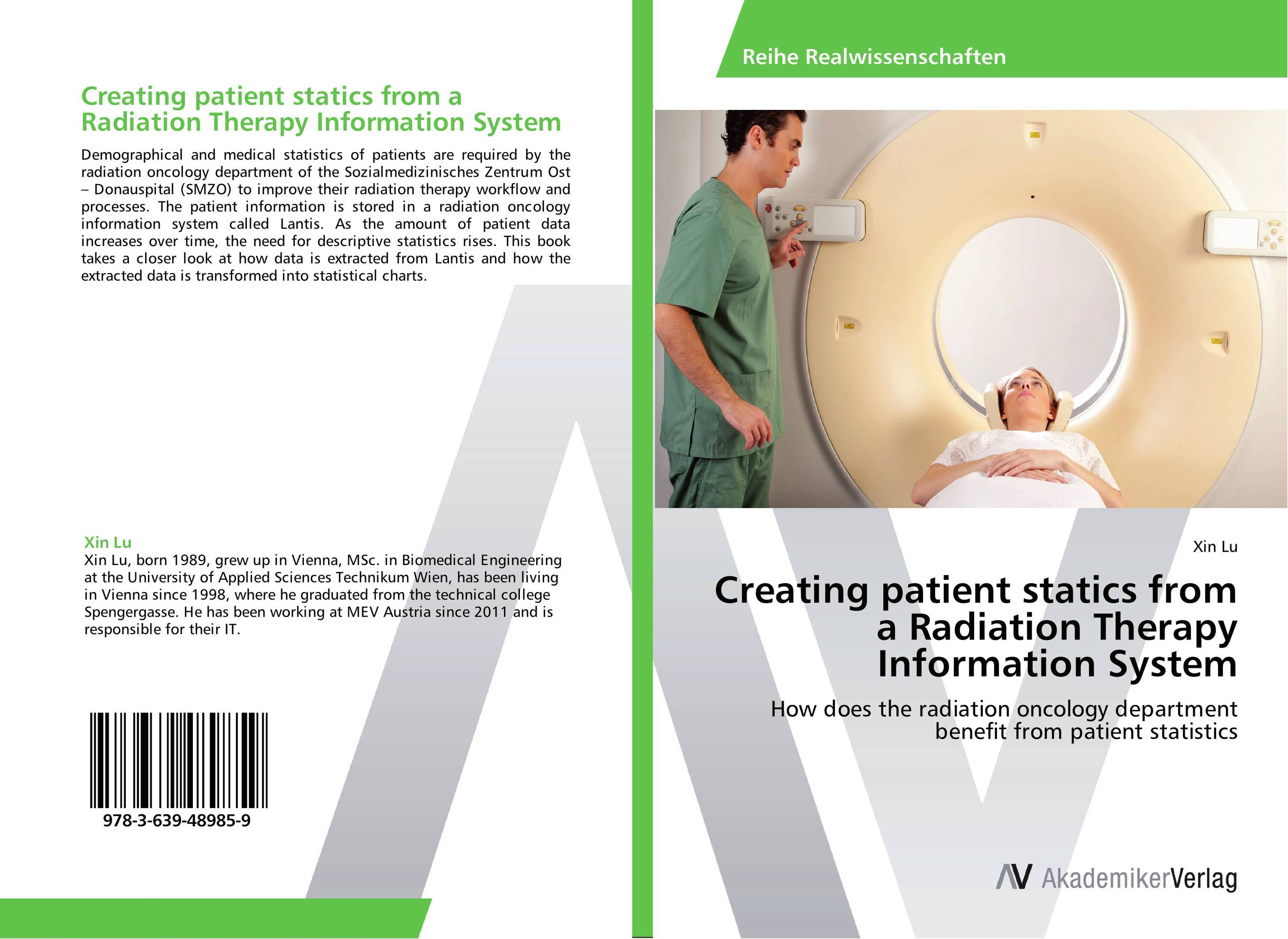 Creating patient statics from a Radiation Therapy Information System ginsberg statics 2ed