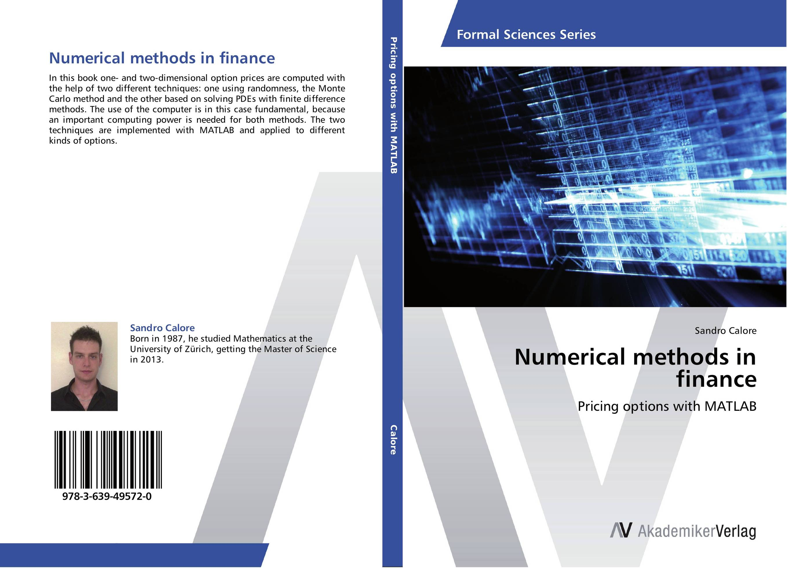 Numerical methods in finance monte carlo techniques for electron radiotherapy