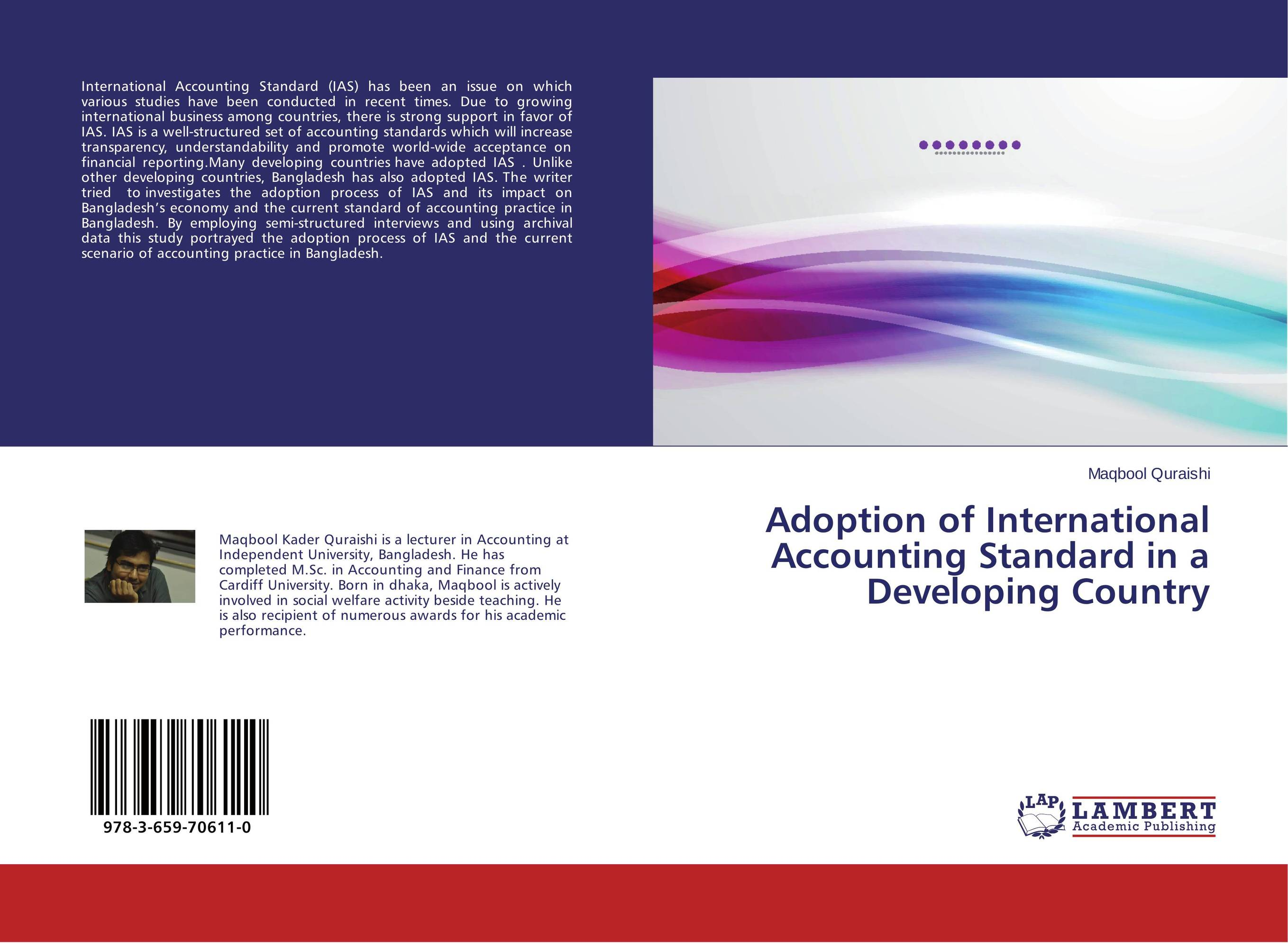 Adoption of International Accounting Standard in a Developing Country