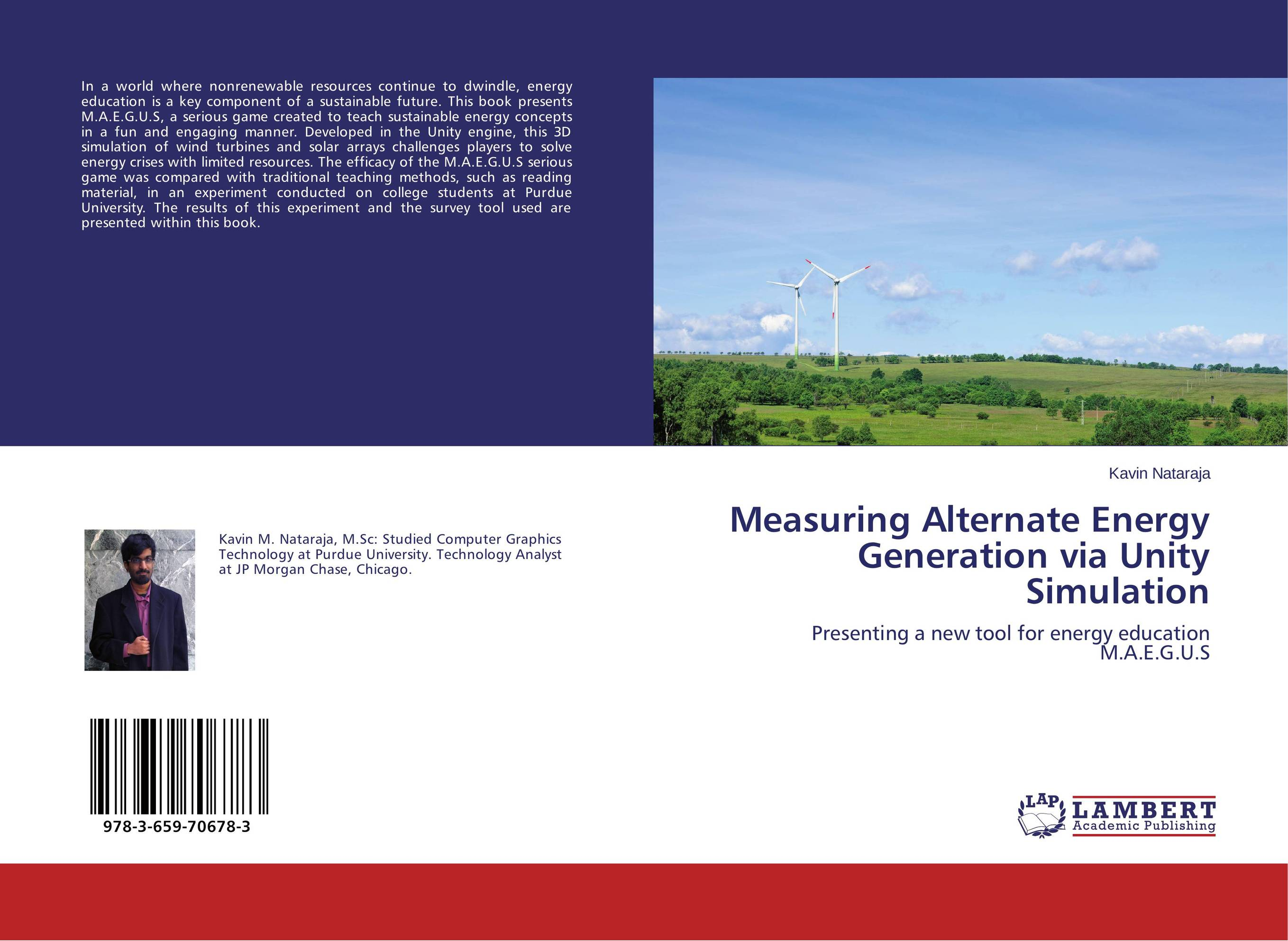 Measuring Alternate Energy Generation via Unity Simulation solar energy modelling and assessing photovoltaic energy