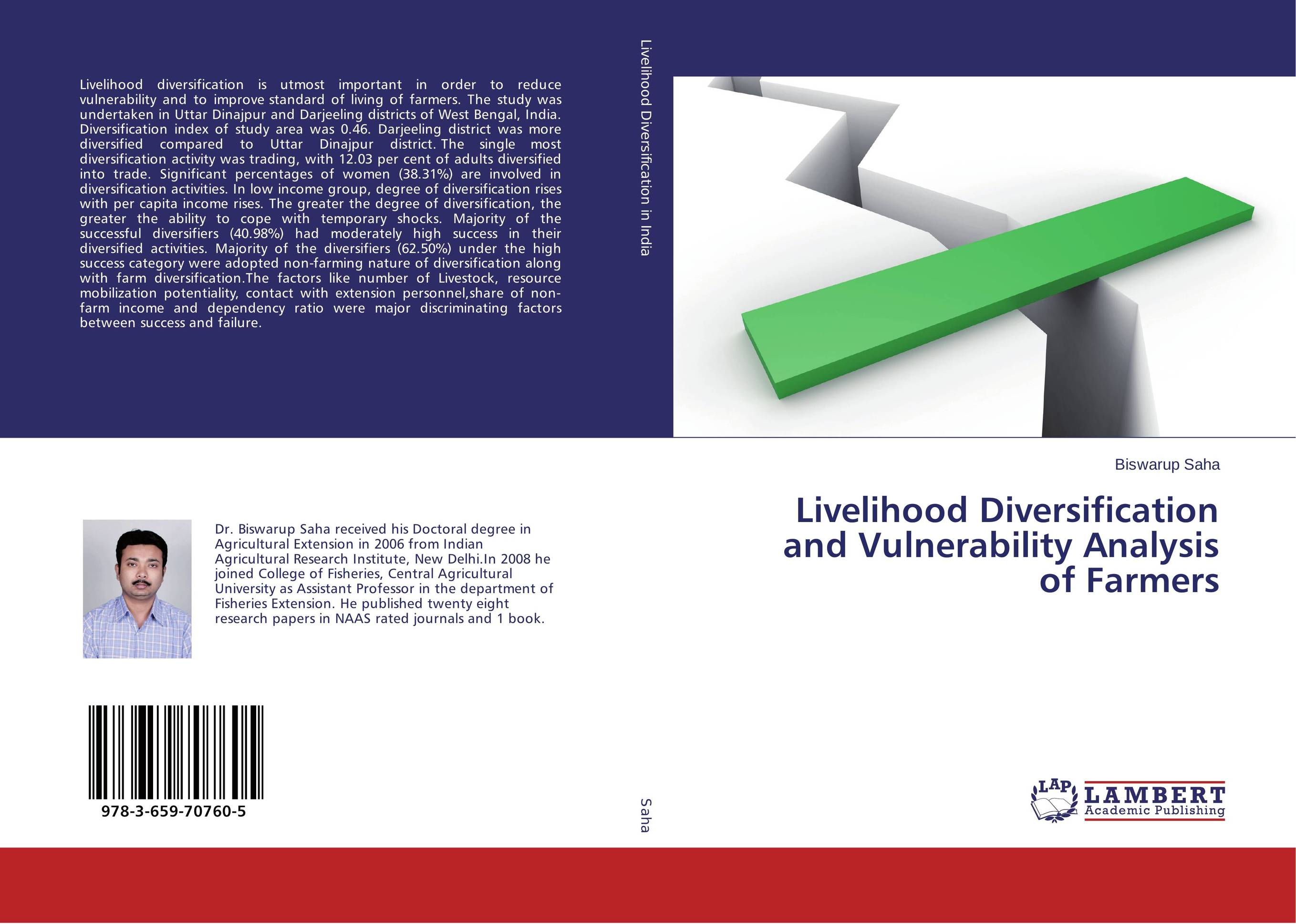 Livelihood Diversification and Vulnerability Analysis of Farmers купить