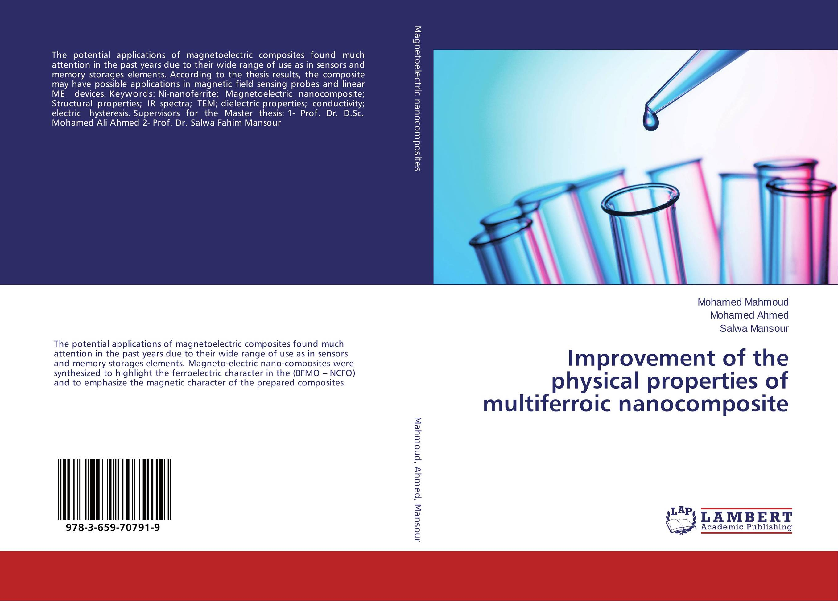 Improvement of the physical properties of multiferroic nanocomposite tarek ahmed working guide to reservoir rock properties and fluid flow