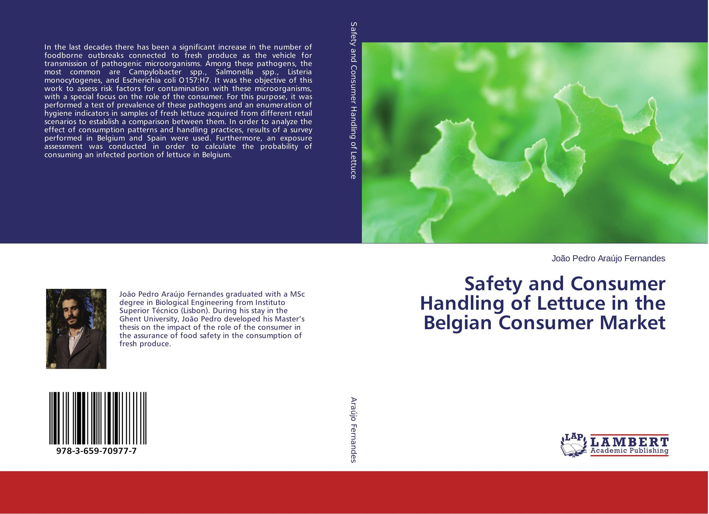 Safety and Consumer Handling of Lettuce in the Belgian Consumer Market
