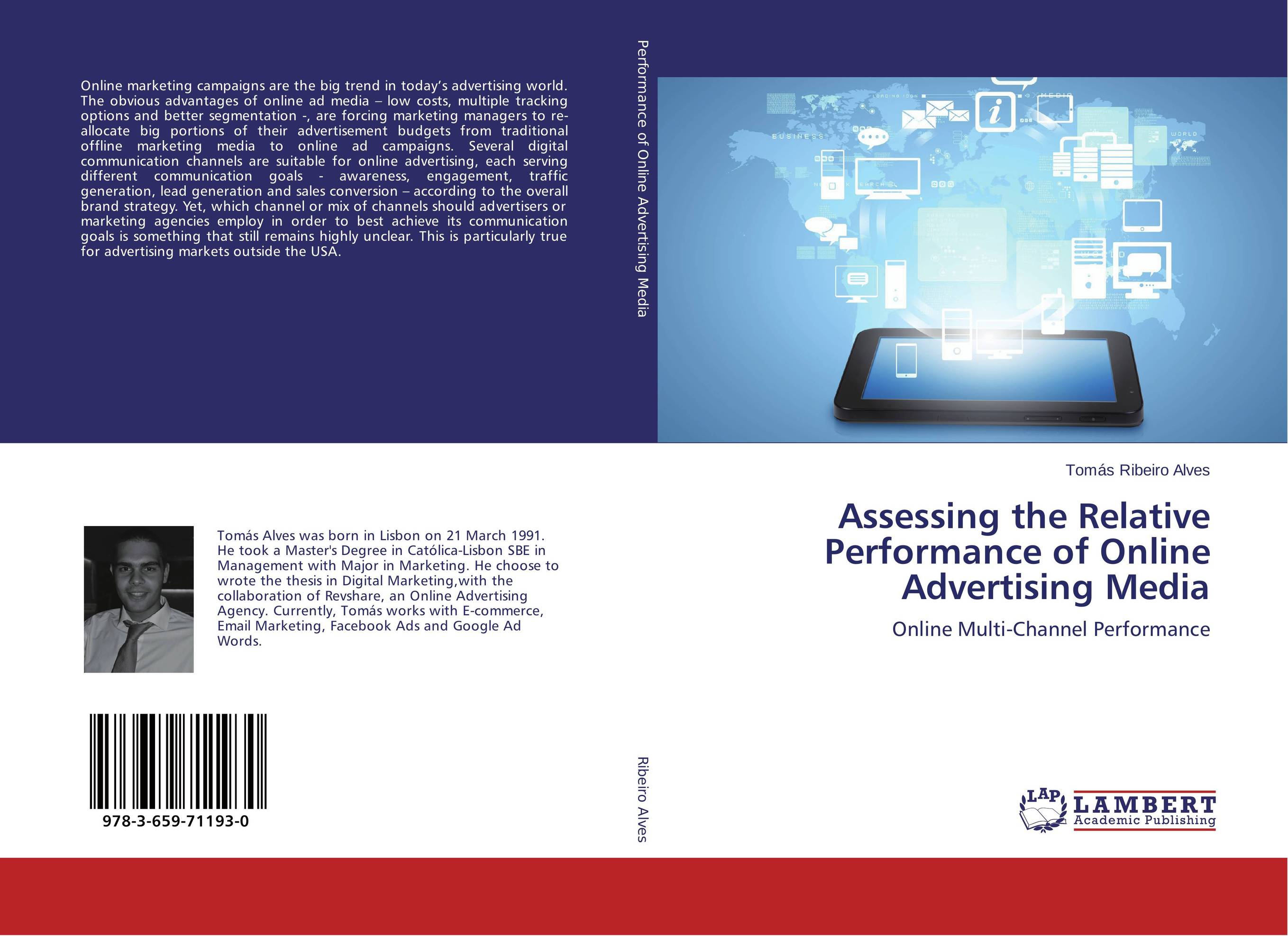 Assessing the Relative Performance of Online Advertising Media marketing channels