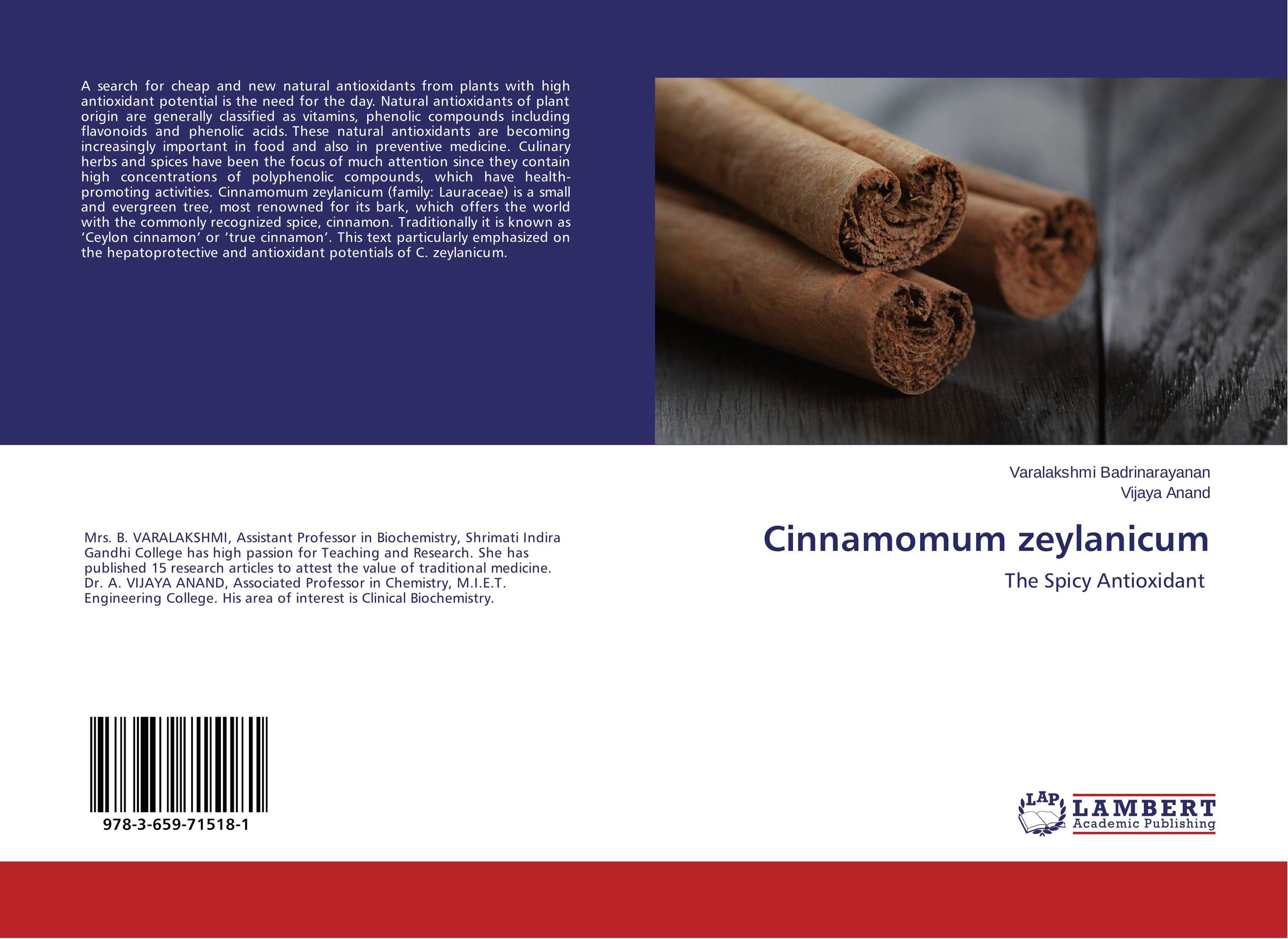 Cinnamomum zeylanicum discovery of natural antioxidants from sudanese medicinal plants