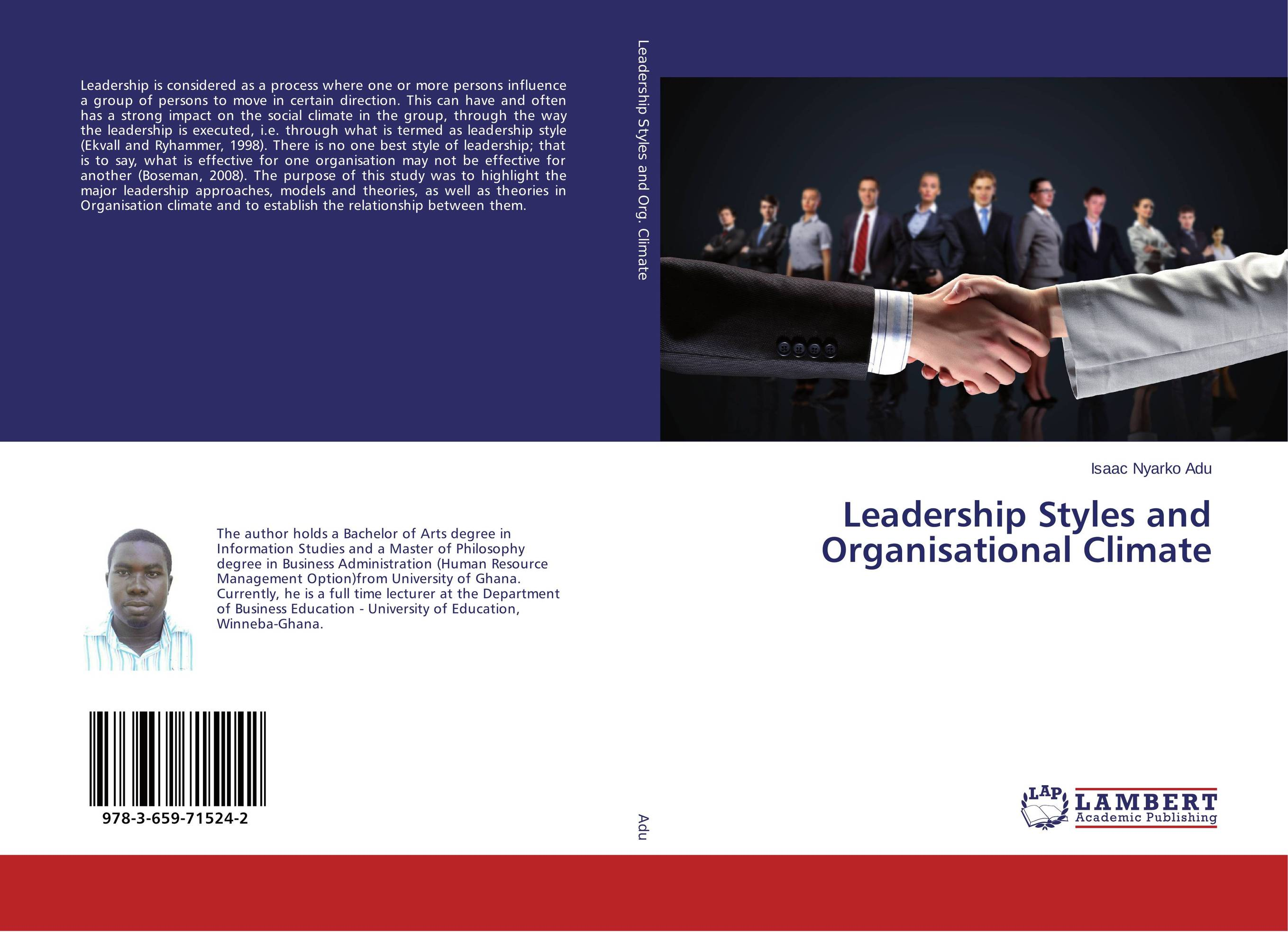leadership style in an organisation