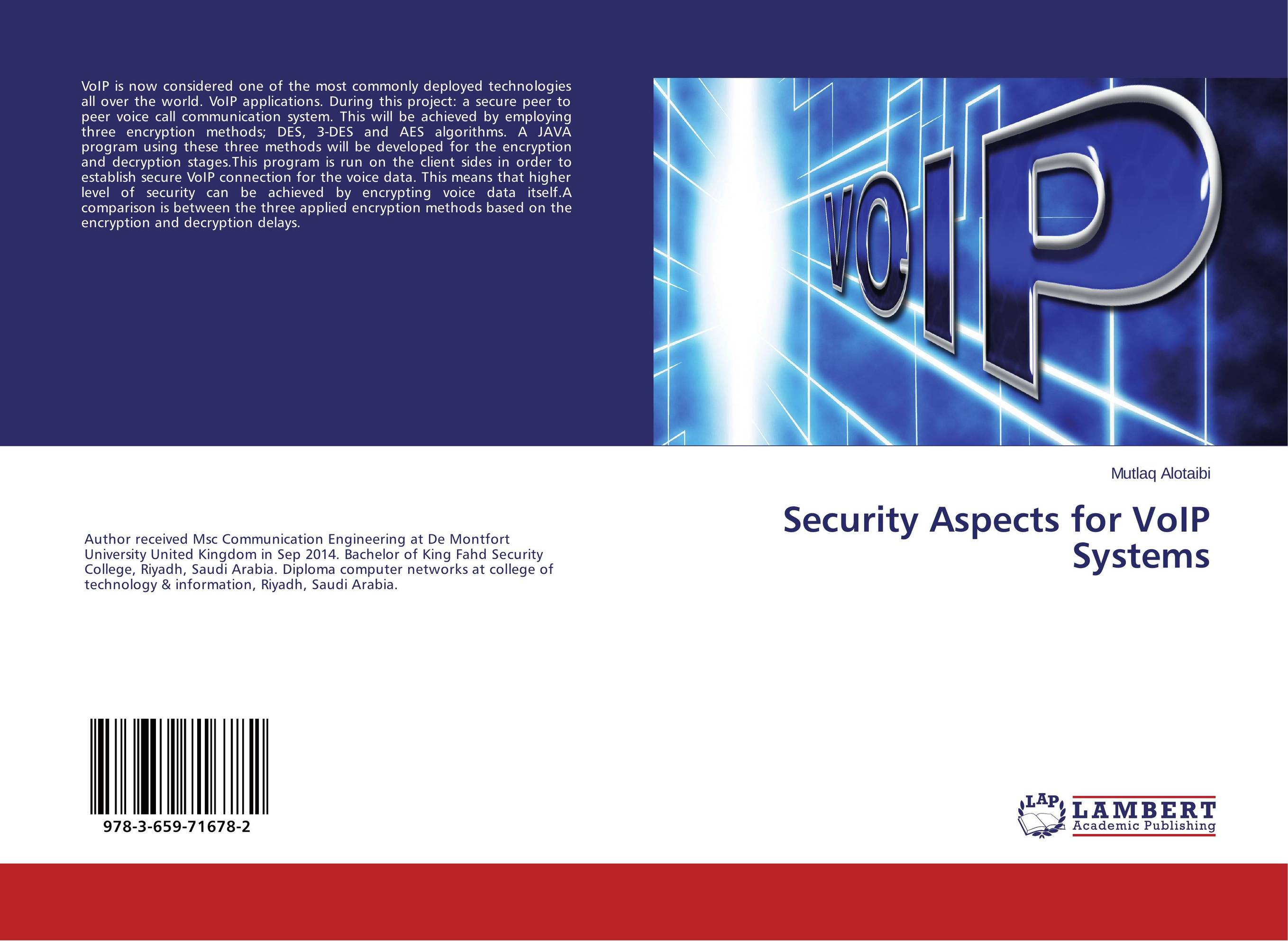 Security Aspects for VoIP Systems taya stellar wind 42 led