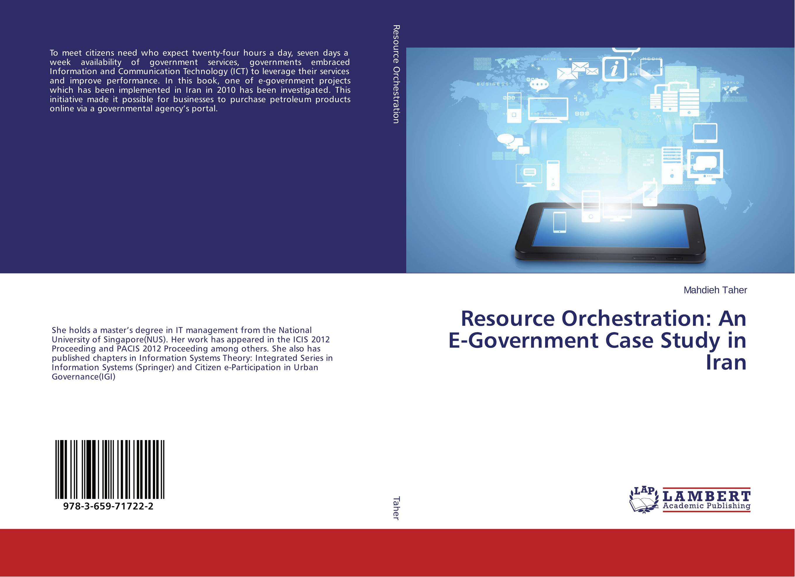 Resource Orchestration: An E-Government Case Study in Iran an ecological perspective to adolescent smoking study in iran