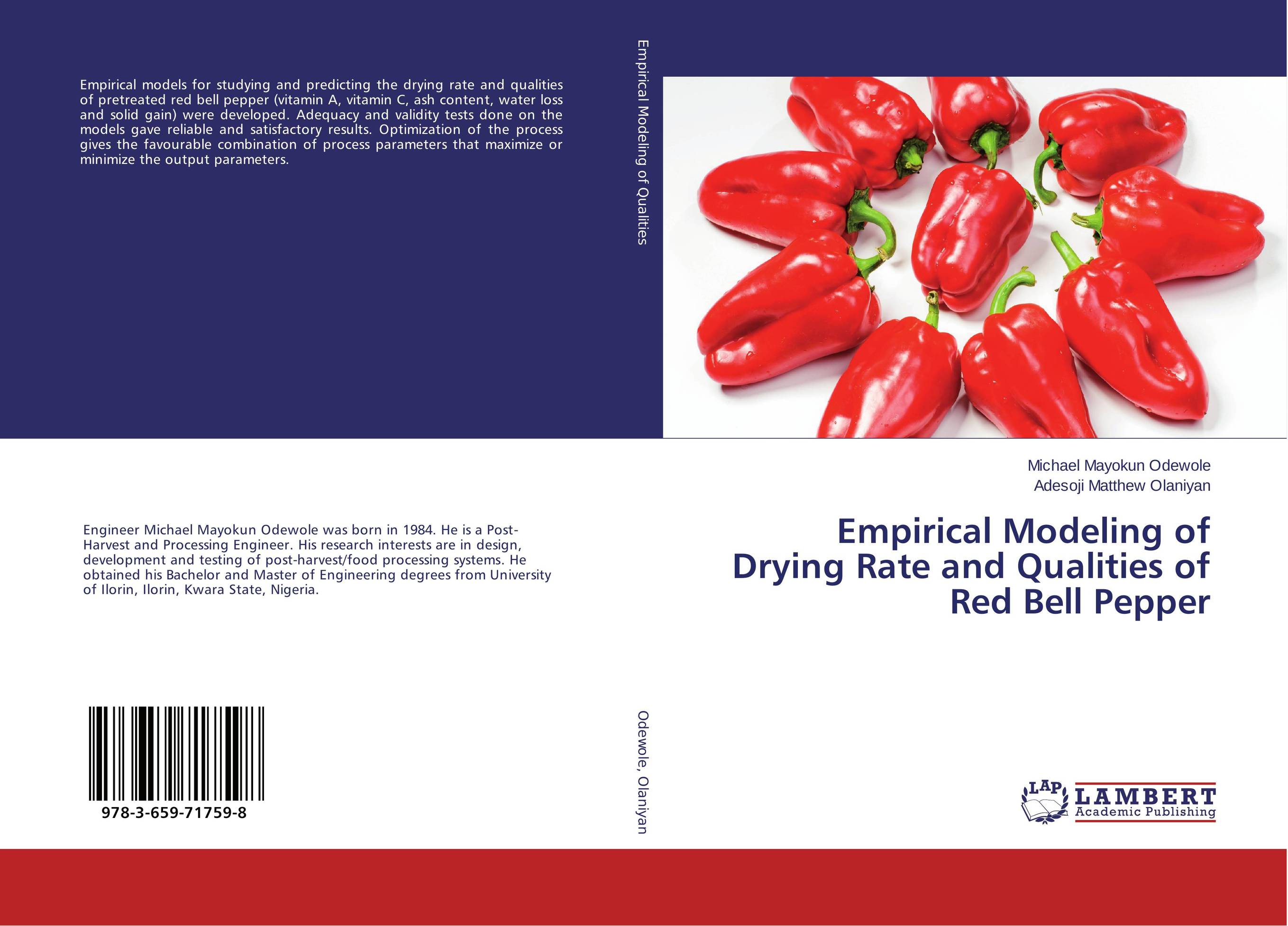 Empirical Modeling of Drying Rate and Qualities of Red Bell Pepper шина michelin latitude tour hp n0 265 45 r20 104v