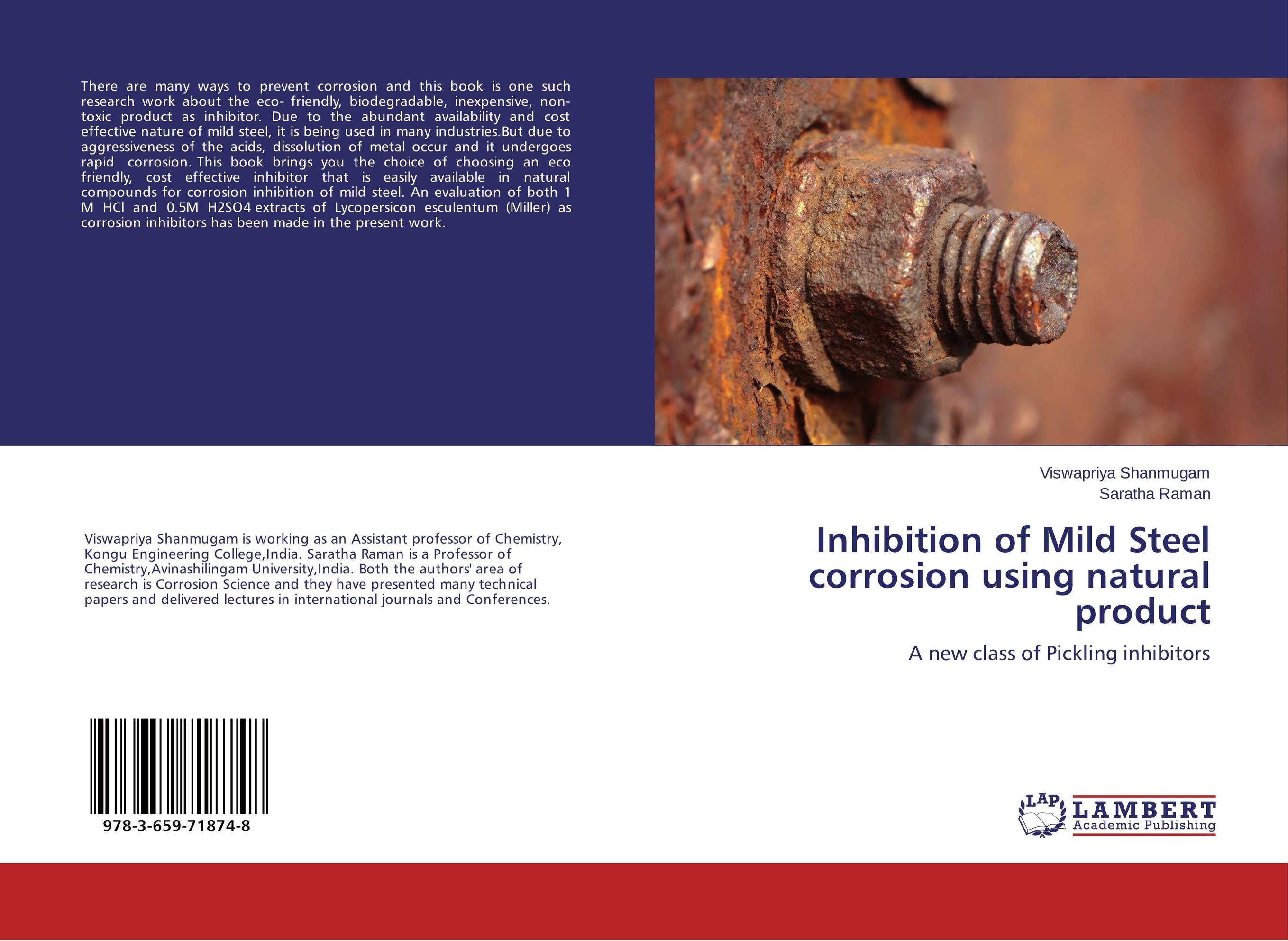 Inhibition of Mild Steel corrosion using natural product