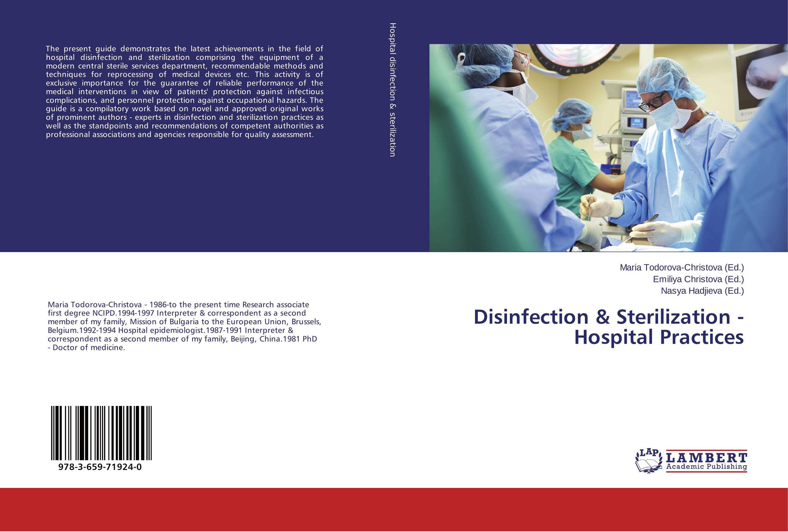 Disinfection & Sterilization - Hospital Practices ce emc lvd fcc medical ozonizer for wards disinfection