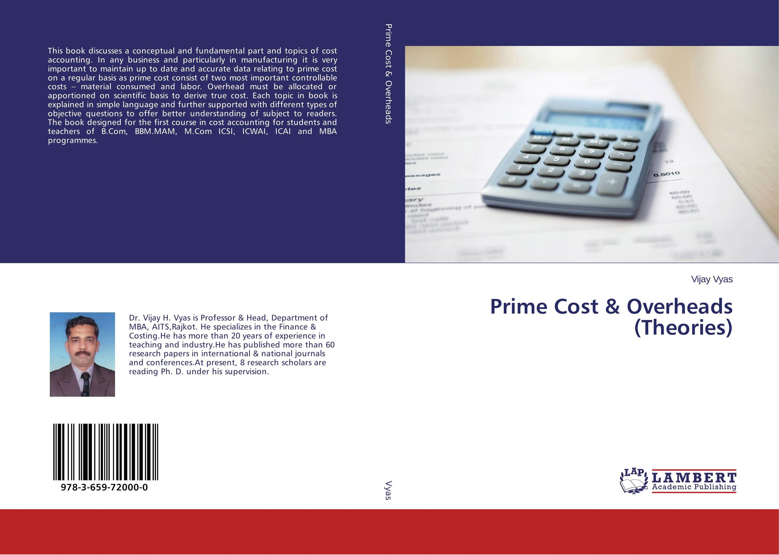 Prime Cost & Overheads (Theories) sandy hood management and cost accounting for dummies uk