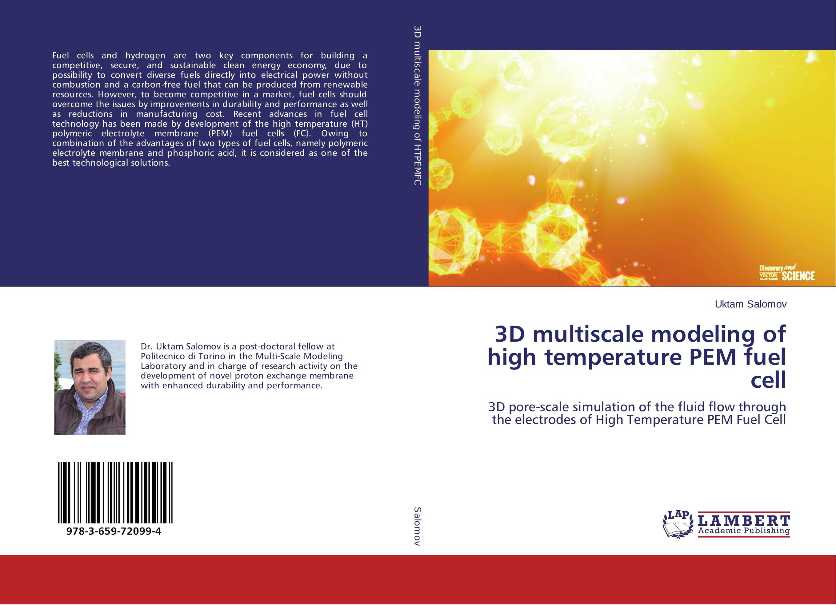 3D multiscale modeling of high temperature PEM fuel cell