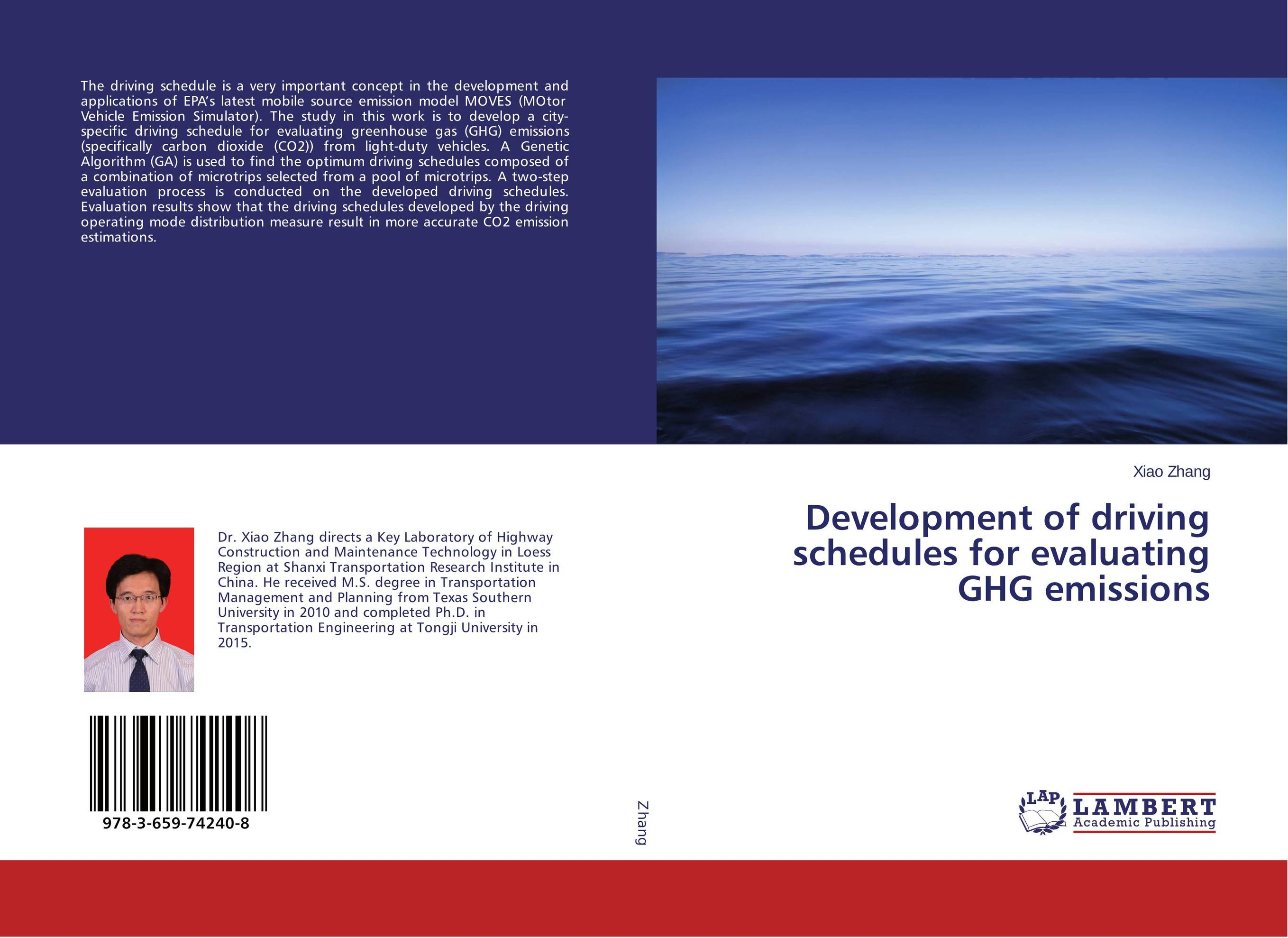Development of driving schedules for evaluating GHG emissions