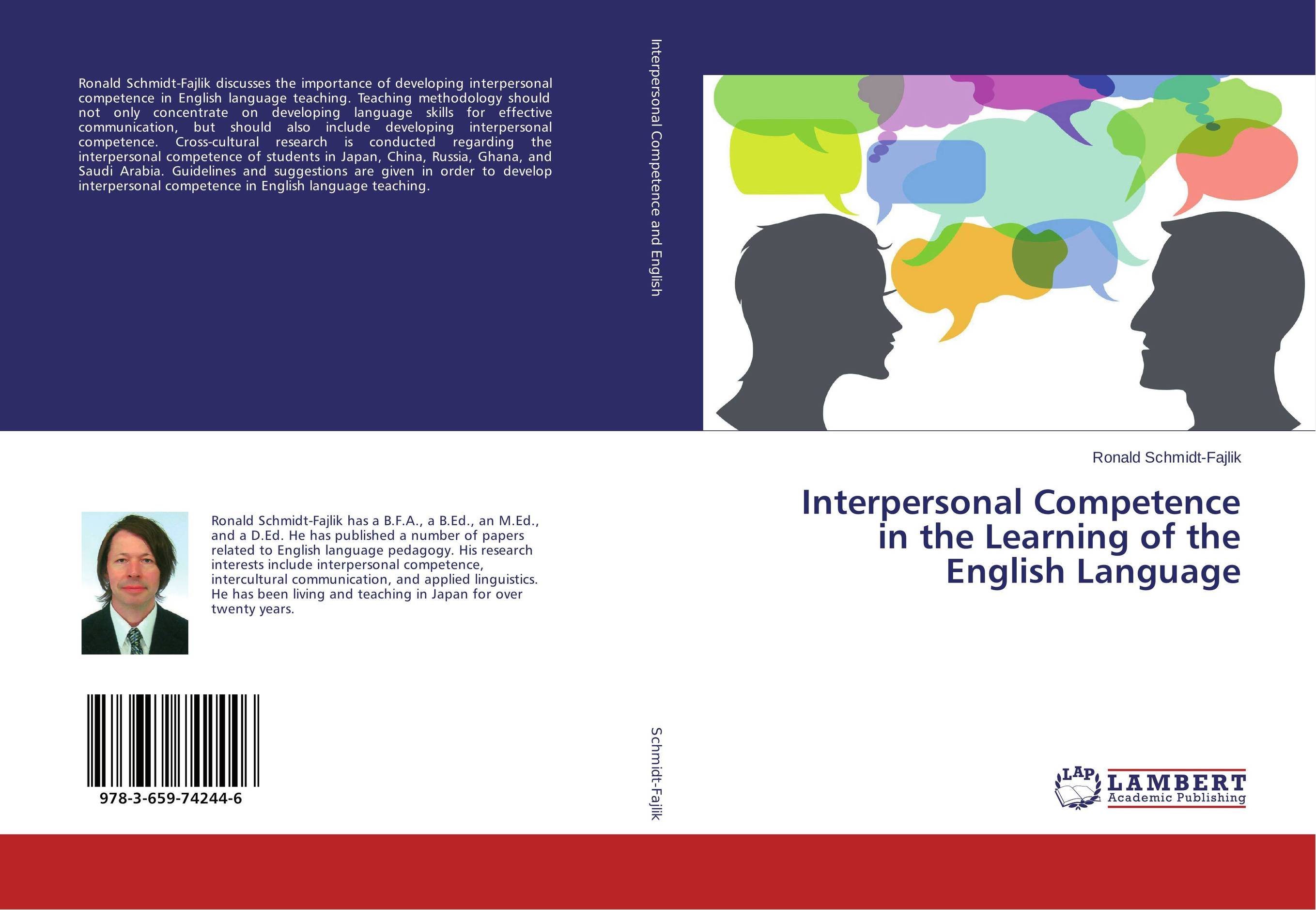 Interpersonal Competence in the Learning of the English Language learner autonomy and web based language learning wbll