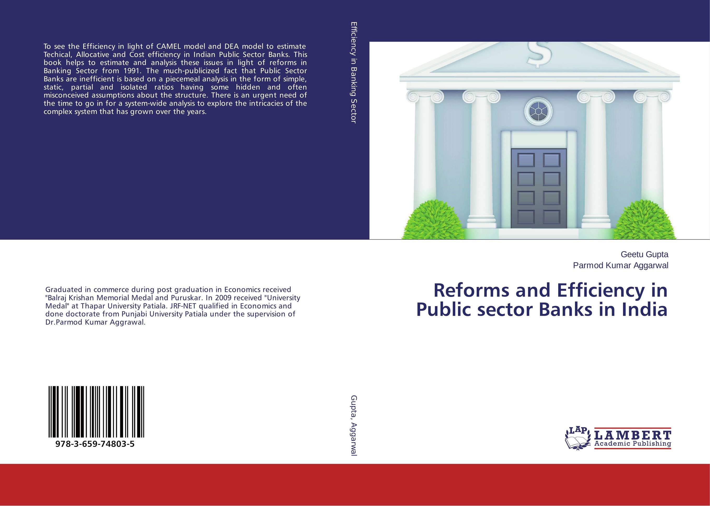 Reforms and Efficiency in Public sector Banks in India islamic banking efficiency