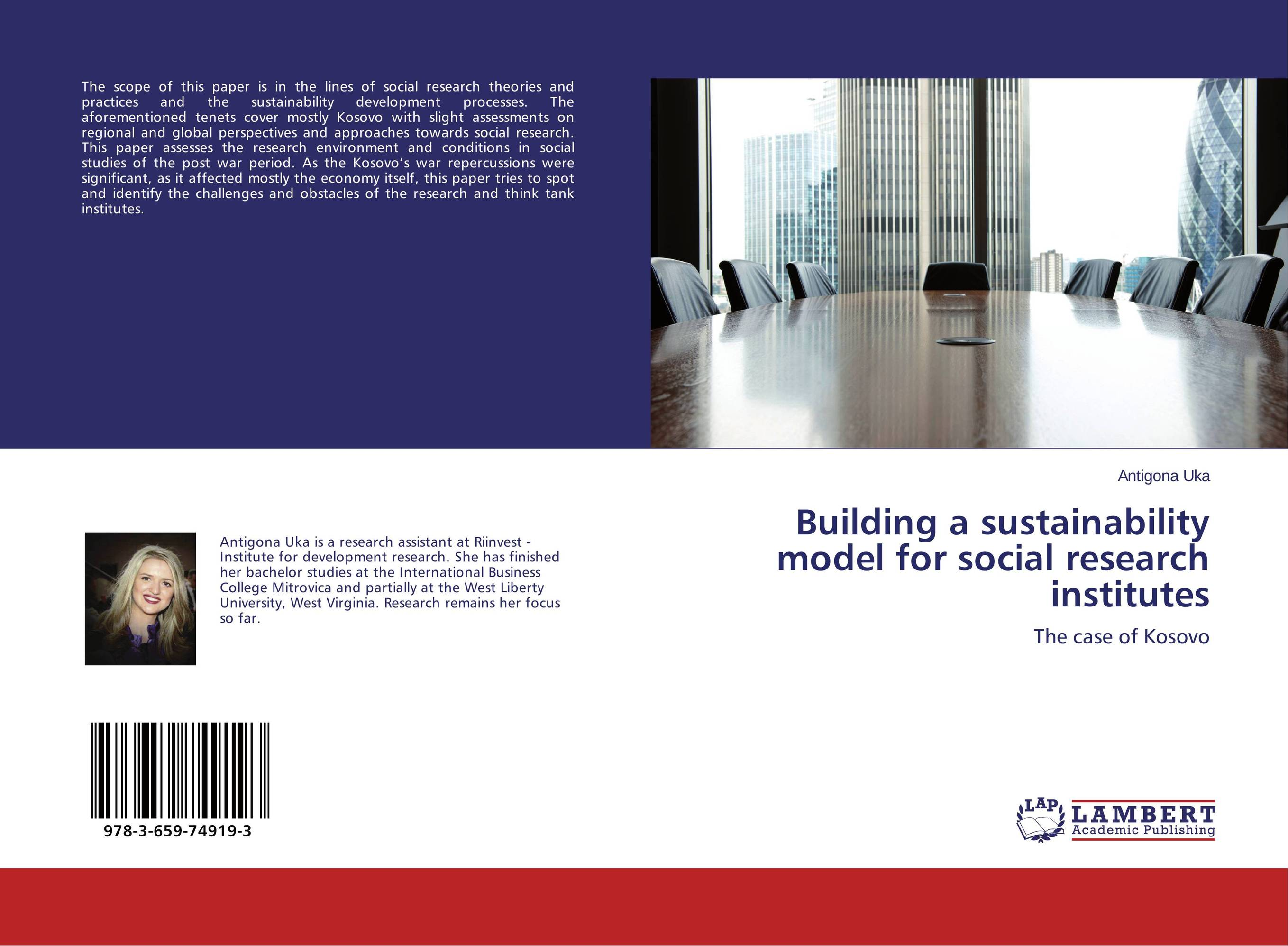 Building a sustainability model for social research institutes