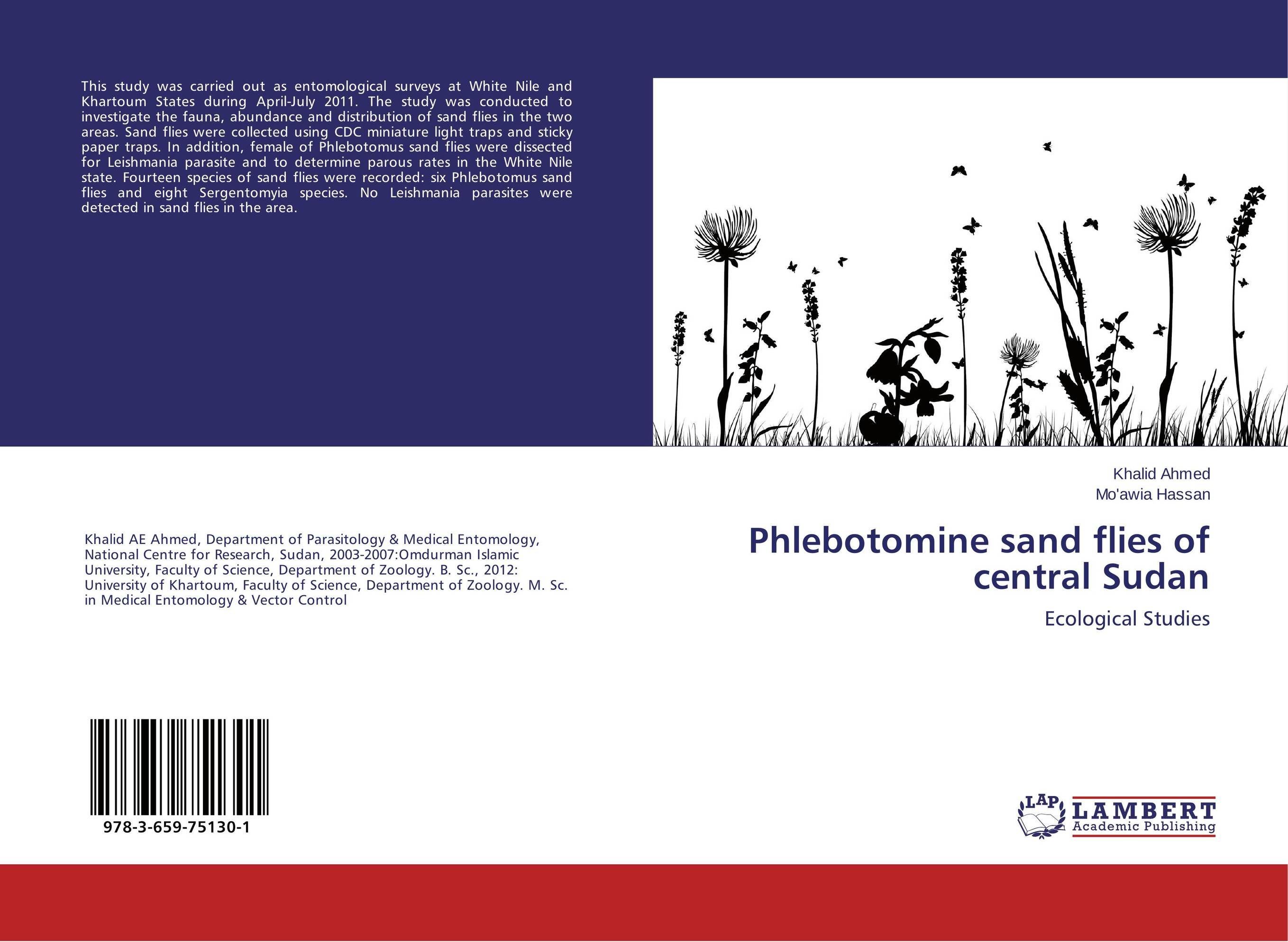 Phlebotomine sand flies of central Sudan phlebotomine sand flies of central sudan