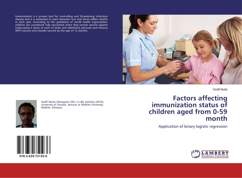 Factors affecting immunization status of children aged from 0-59 month measles immunity status of children in kano nigeria