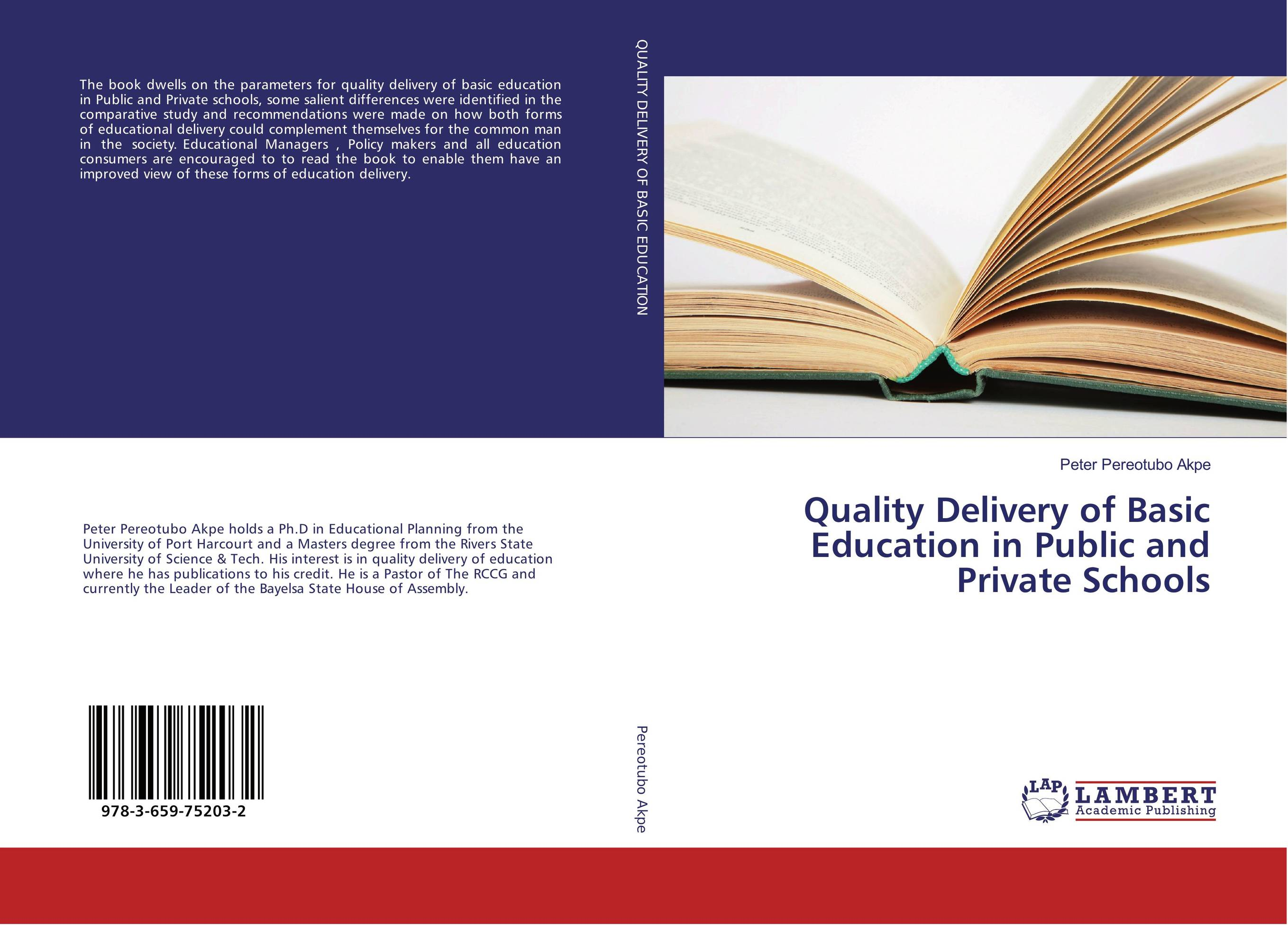 Quality Delivery of Basic Education in Public and Private Schools a comparative study of public and private healthcare services
