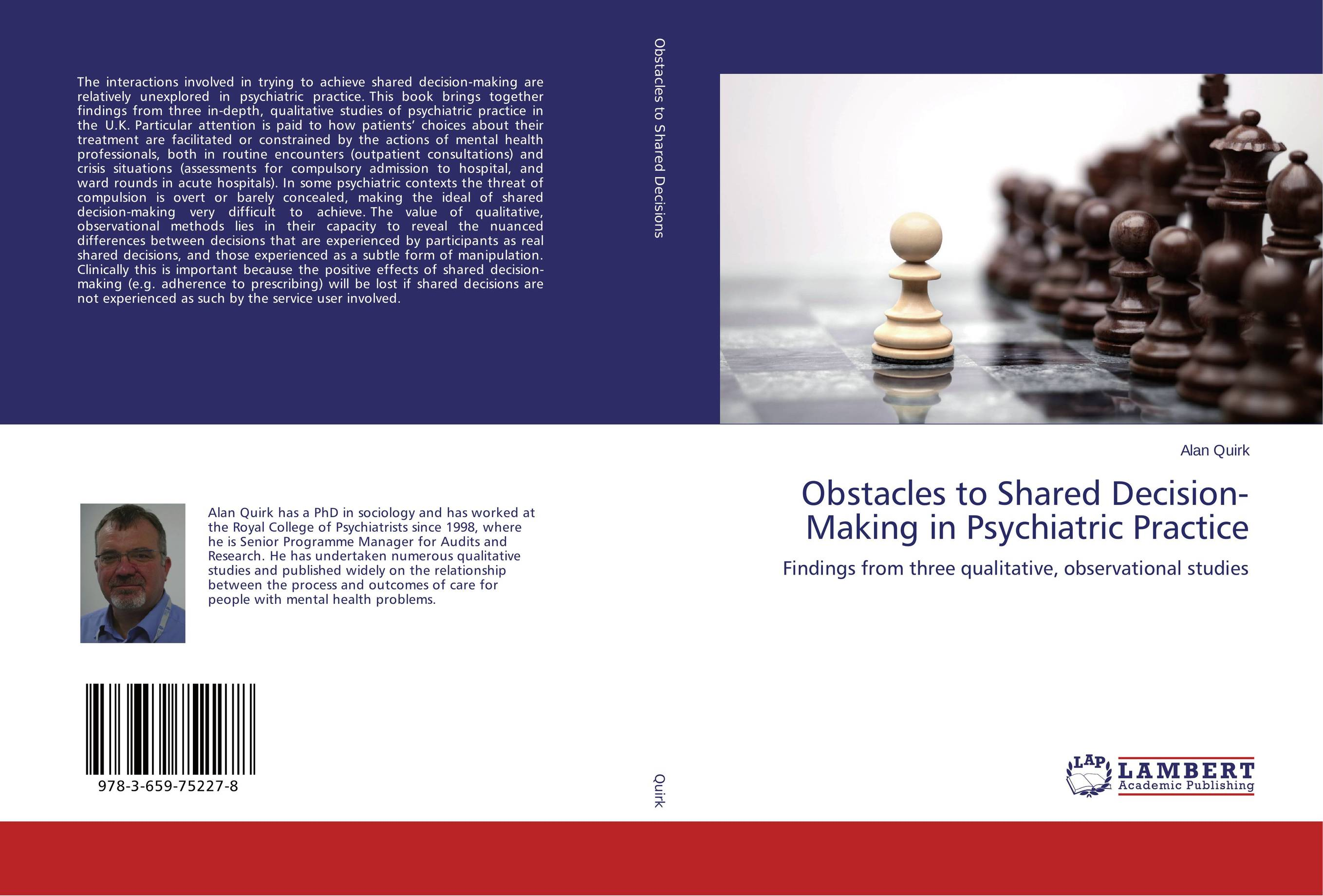 Obstacles to Shared Decision-Making in Psychiatric Practice santal psychiatric patients