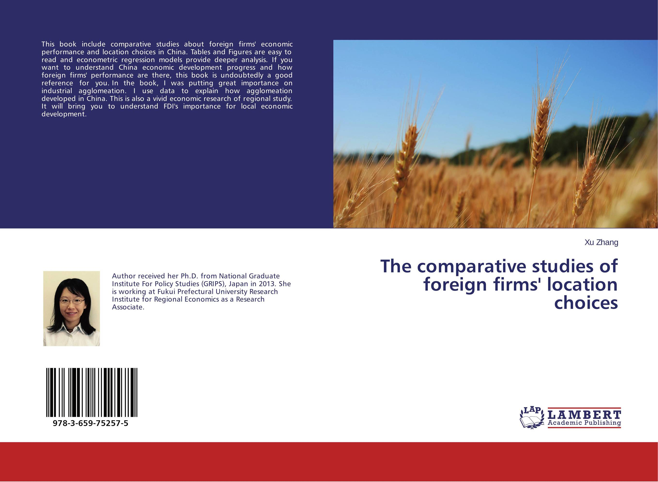 The comparative studies of foreign firms' location choices цены онлайн