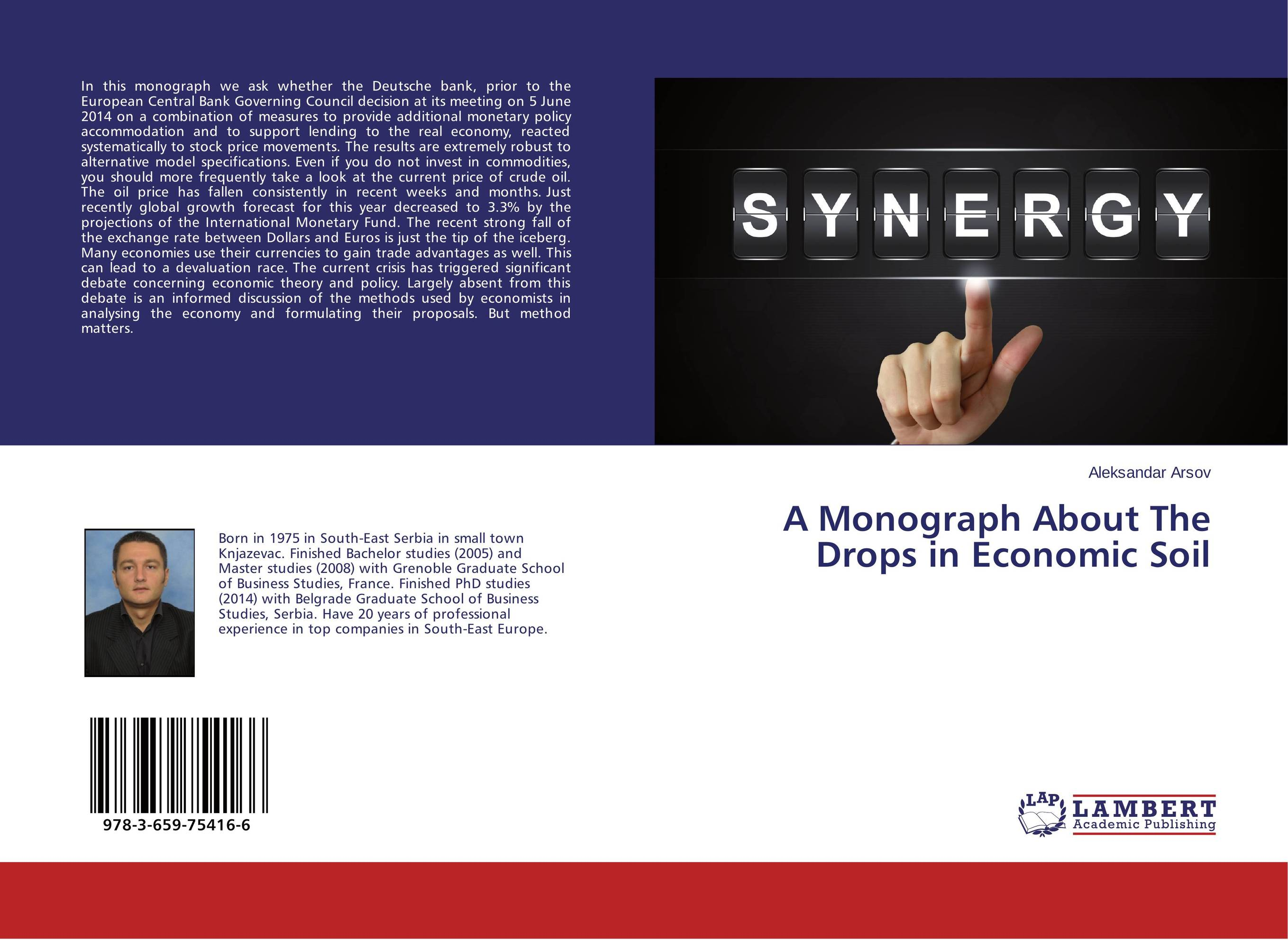 A Monograph About The Drops in Economic Soil drops of god