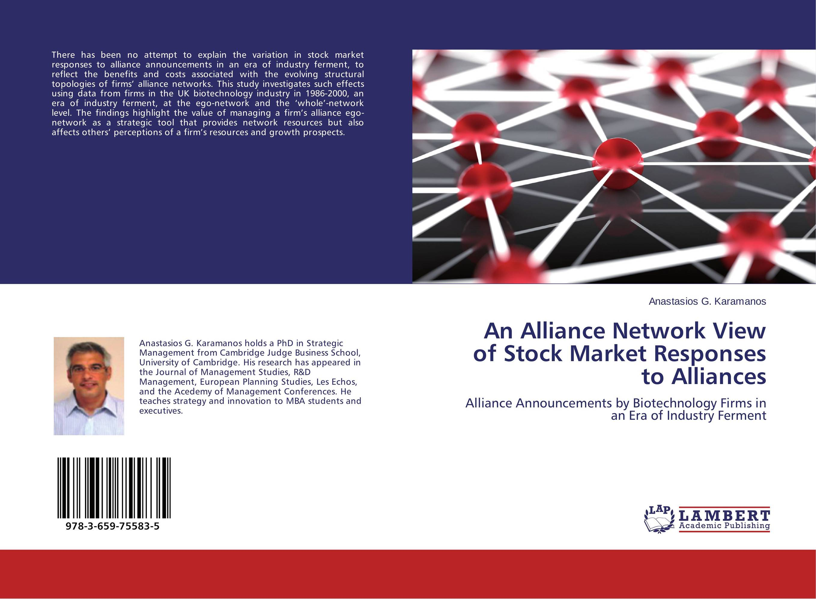 An Alliance Network View of Stock Market Responses to Alliances strategic alliances in the software industry