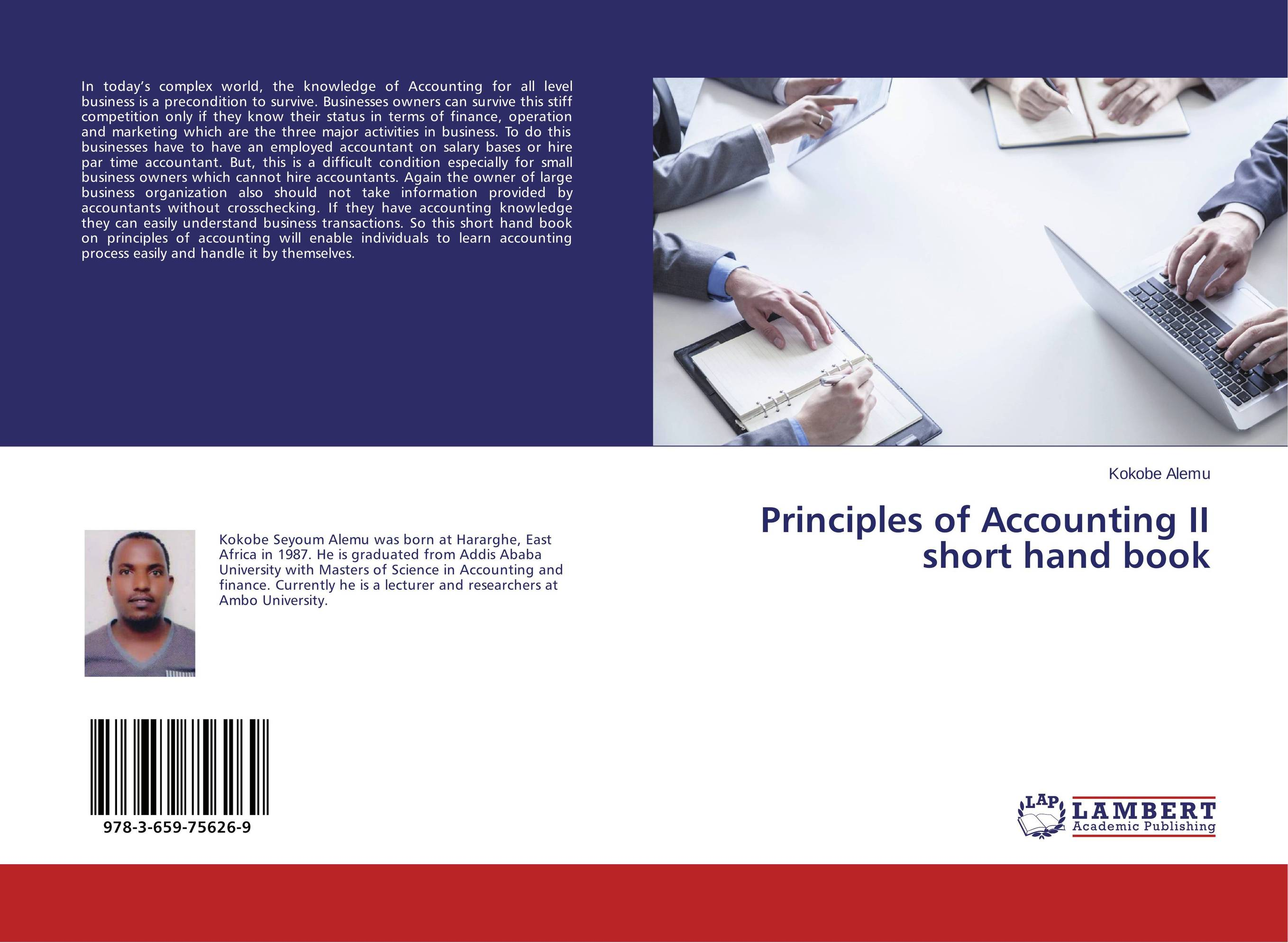 Principles of Accounting II short hand book
