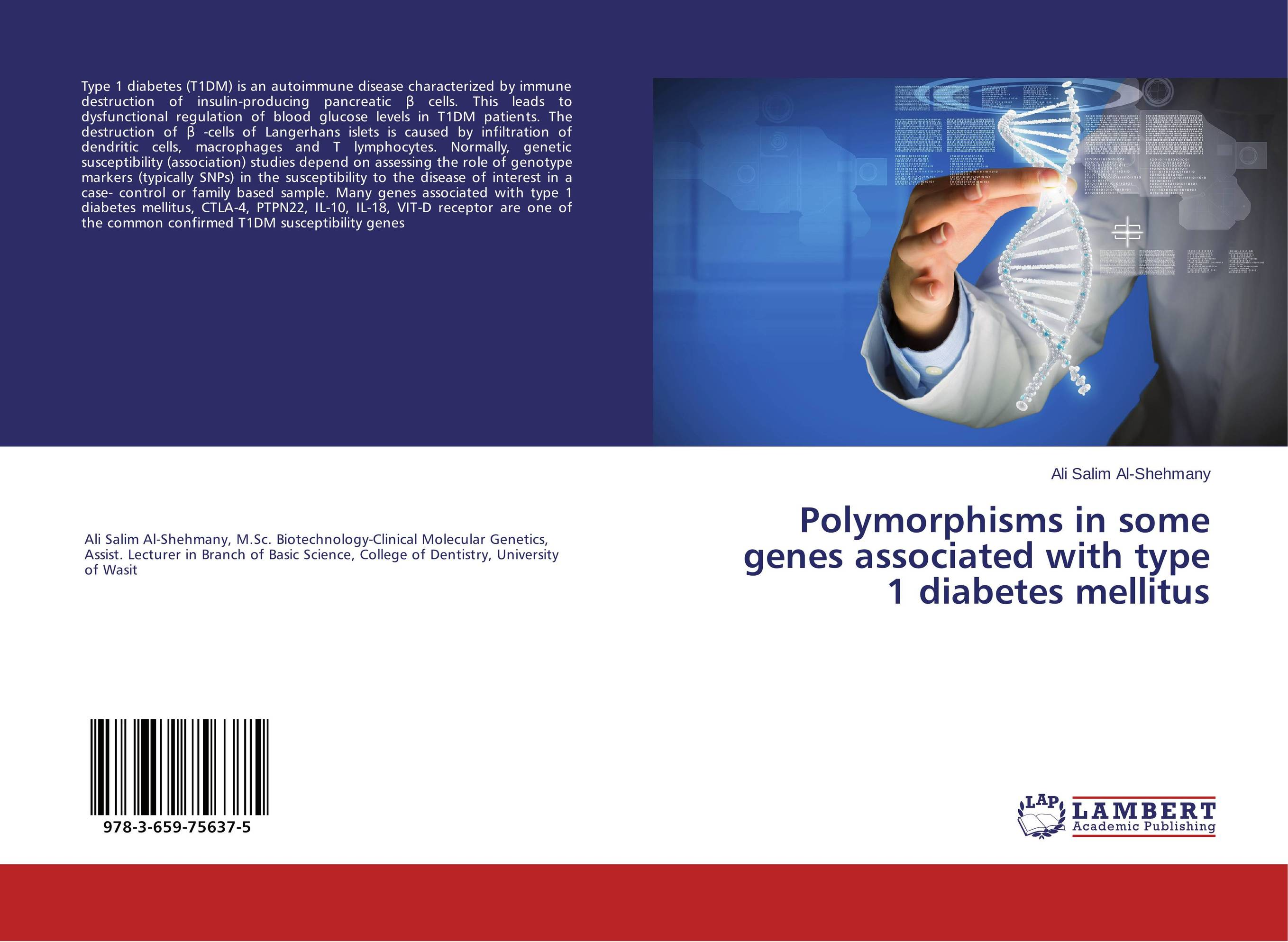 Polymorphisms in some genes associated with type 1 diabetes mellitus polymorphisms at candidate genes for disease resistance in chicken