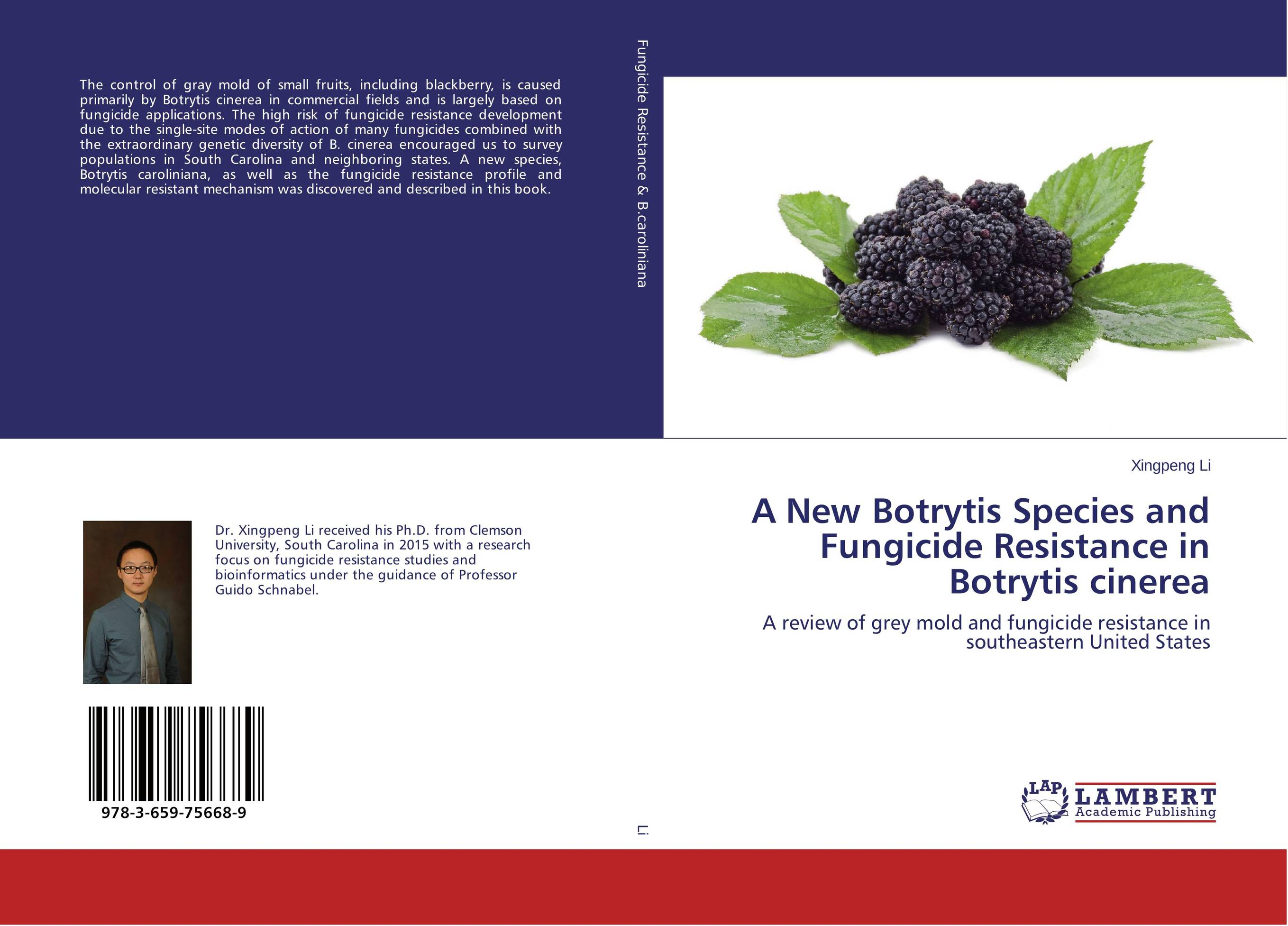 A New Botrytis Species and Fungicide Resistance in Botrytis cinerea genetic diversity in linseed