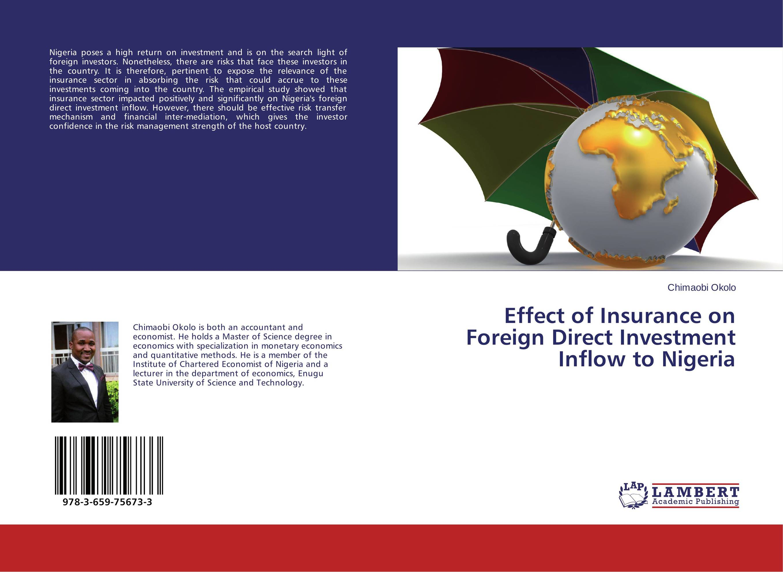 Effect of Insurance on Foreign Direct Investment Inflow to Nigeria