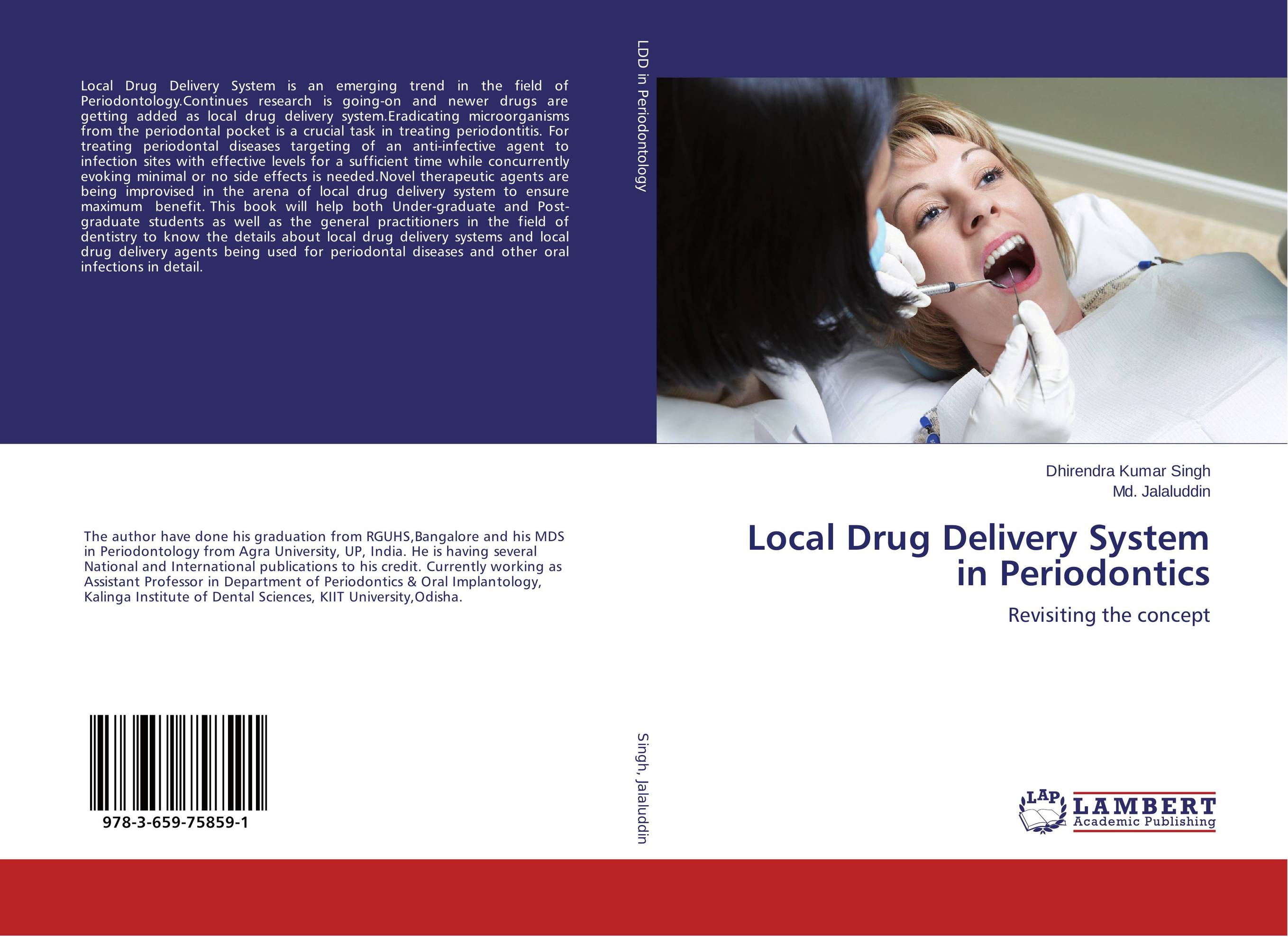 Local Drug Delivery System in Periodontics kamal singh rathore shreya patel and naisarg pujara nanoparticulate drug delivery system