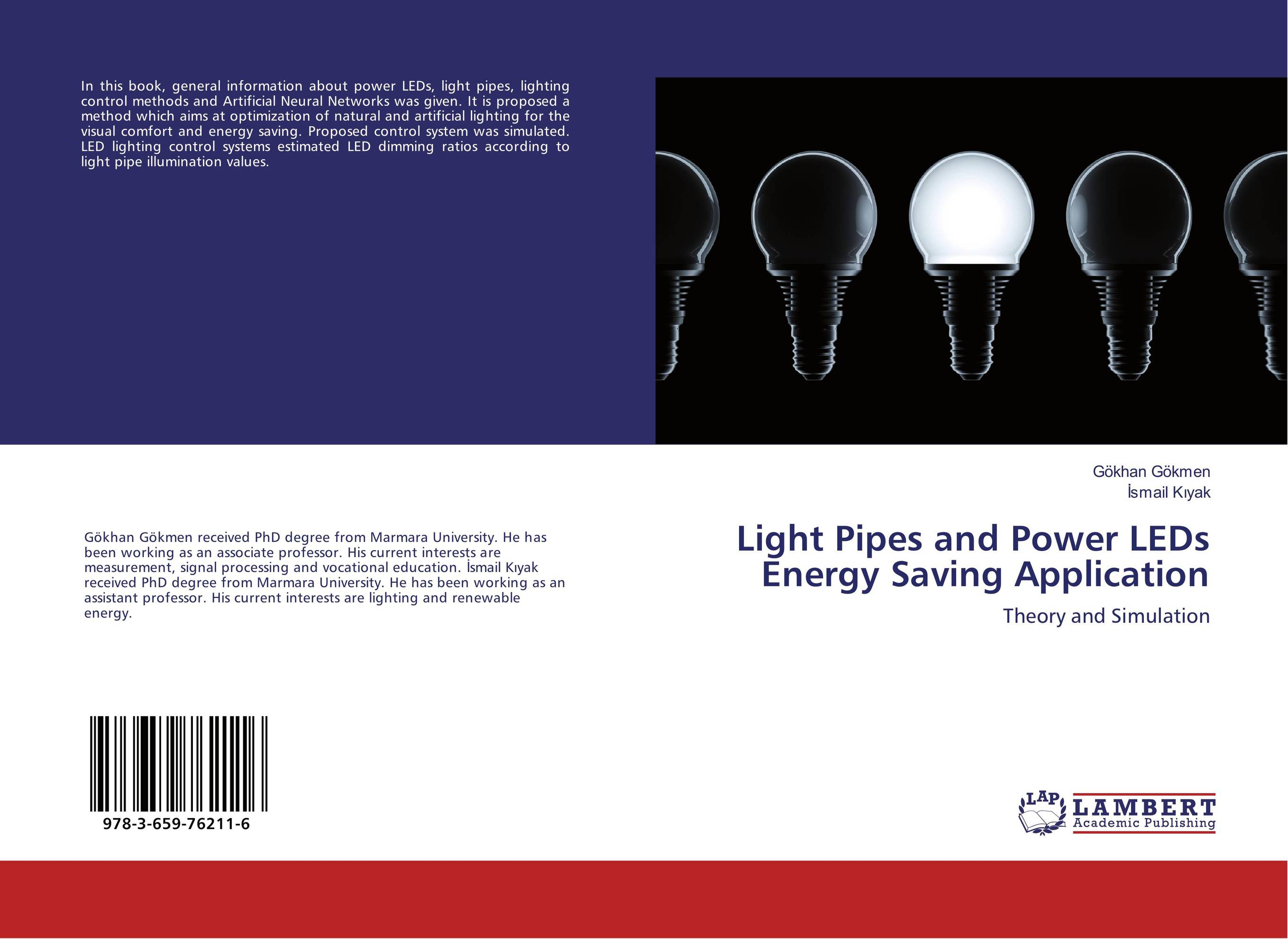 Light Pipes and Power LEDs Energy Saving Application software effort estimation using artificial neural networks