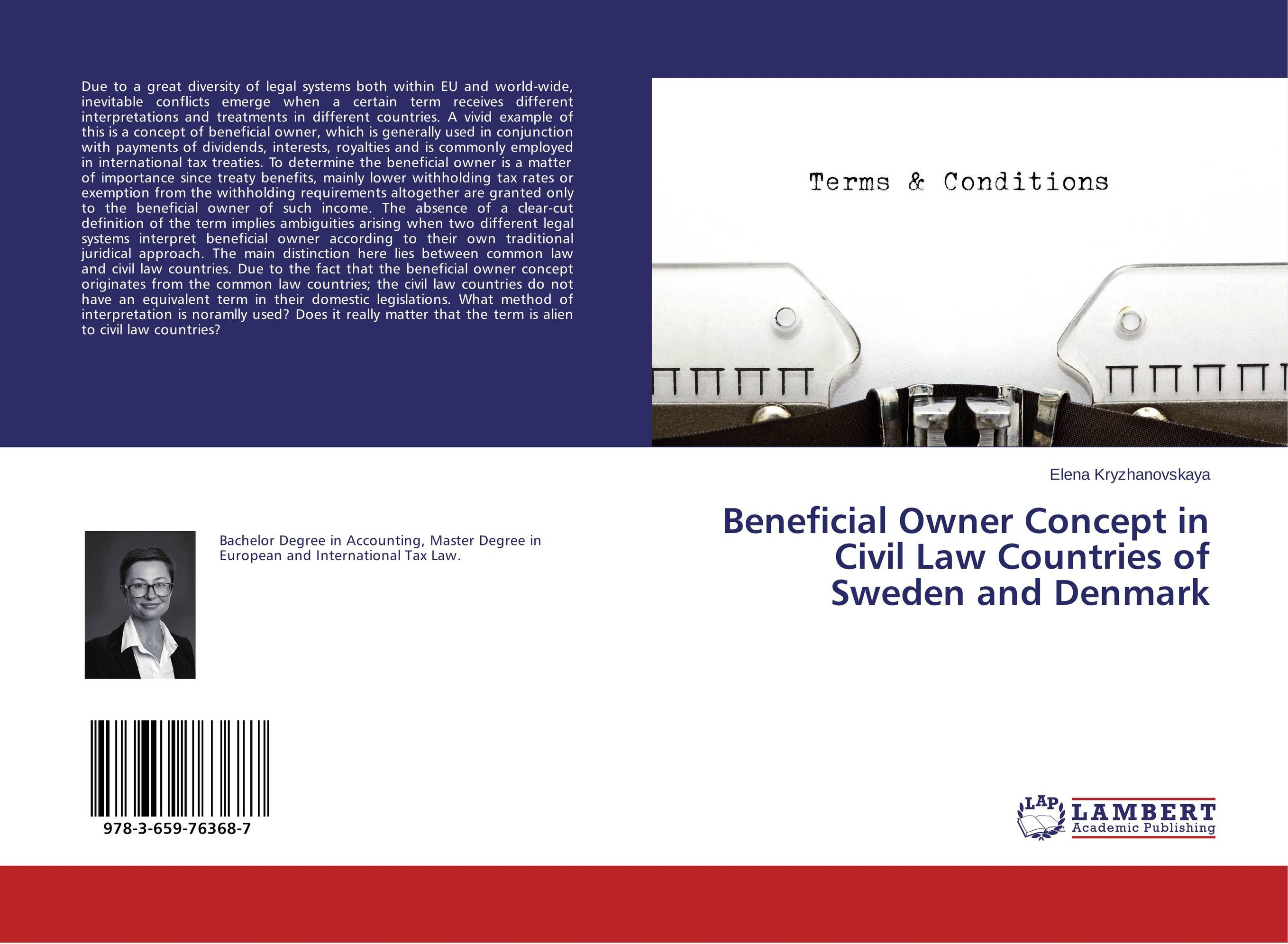 Beneficial Owner Concept in Civil Law Countries of Sweden and Denmark common mental disorders in long term sickness absence