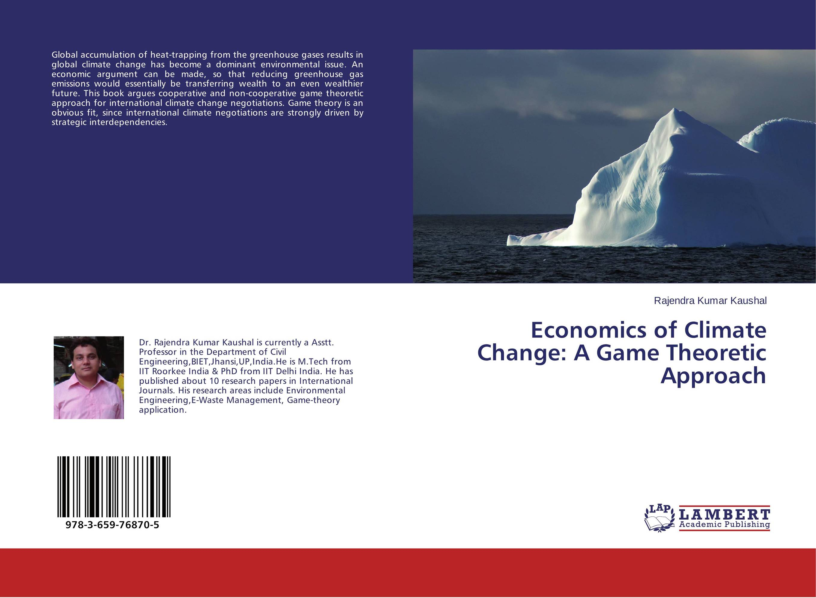 Economics of Climate Change: A Game Theoretic Approach driven to distraction