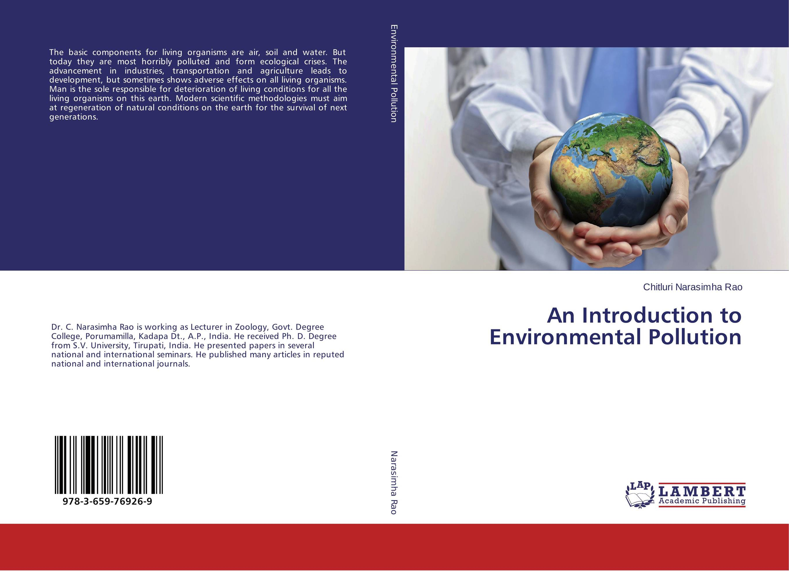 An Introduction to Environmental Pollution sulaiman oladokun olanrewaju ab saman abd kader and adi maimun safety and environmental risk model for inland water transportation
