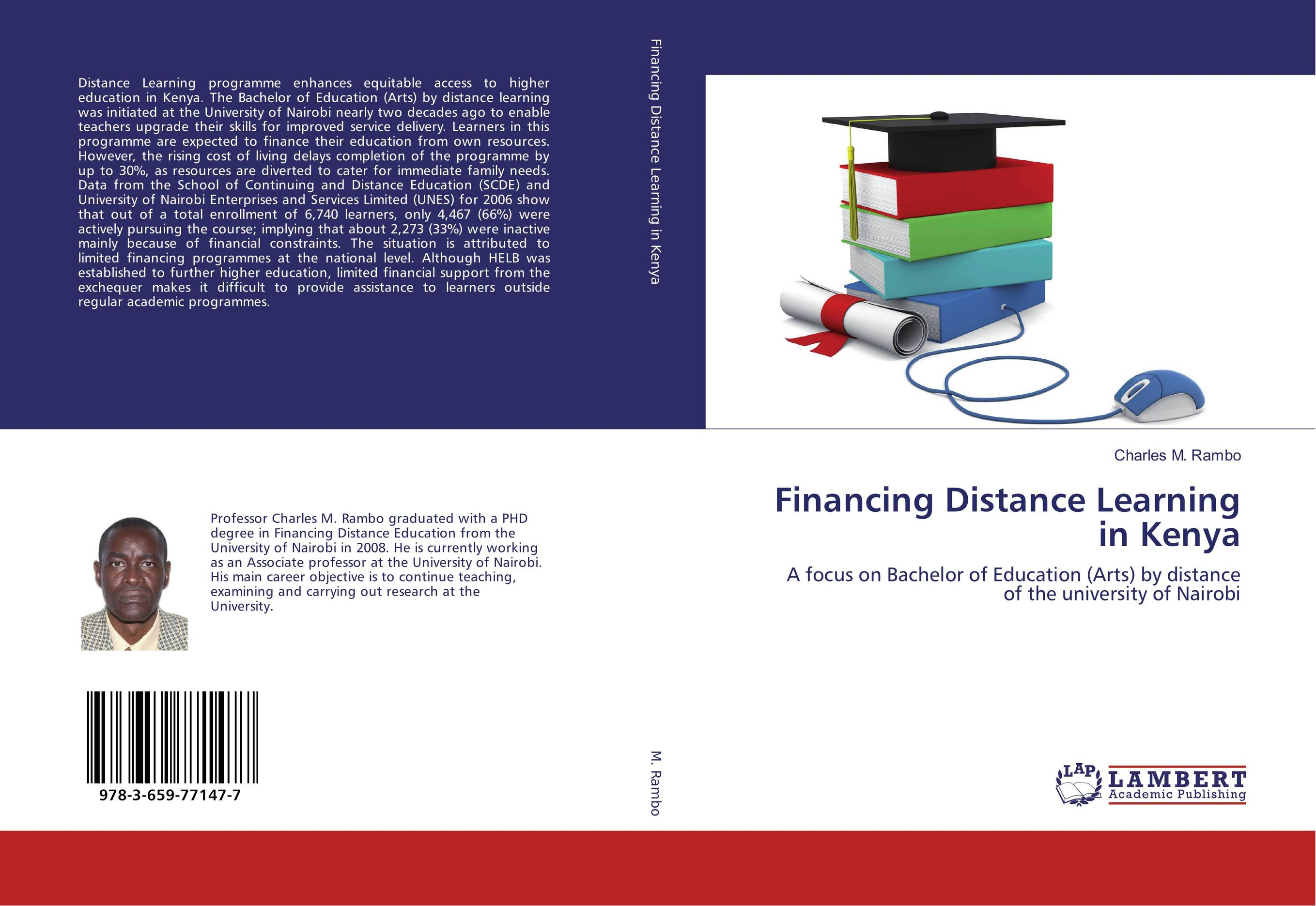Financing Distance Learning in Kenya florence kisirkoi learning needs of street children in kenya